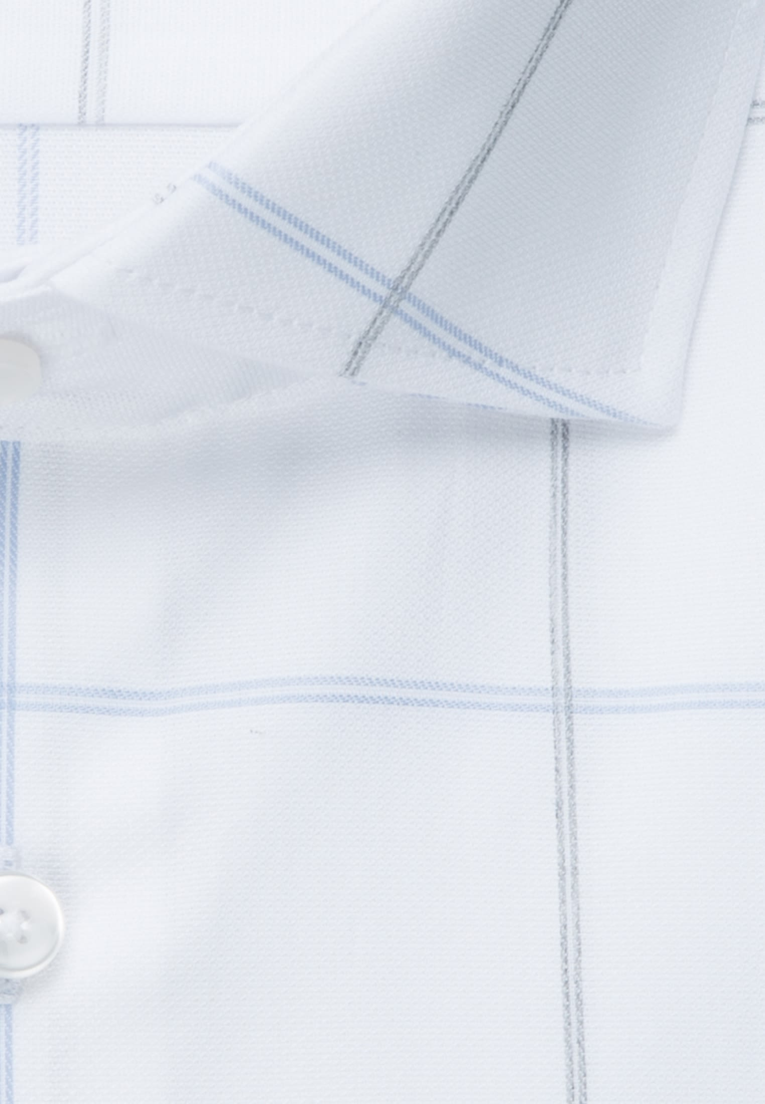Easy-iron Melange yarns Business Shirt in Slim with Kent-Collar in Light blue |  Seidensticker Onlineshop