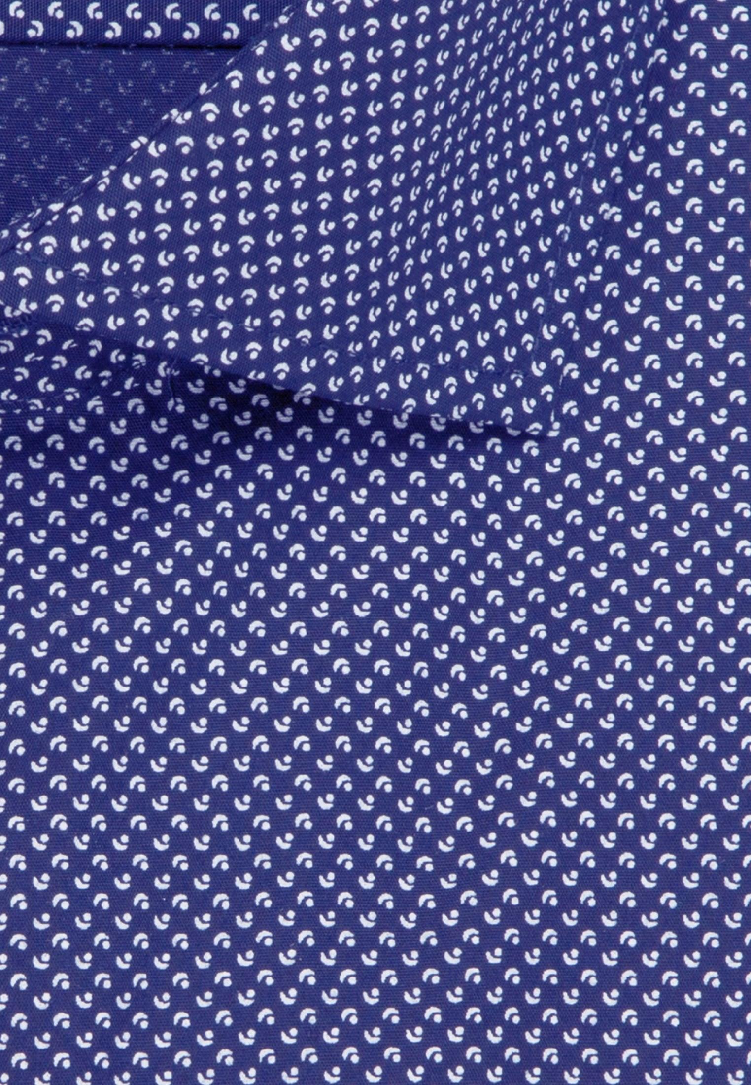 Bügelleichtes Popeline Business Hemd in Slim mit Kentkragen in Mittelblau |  Seidensticker Onlineshop