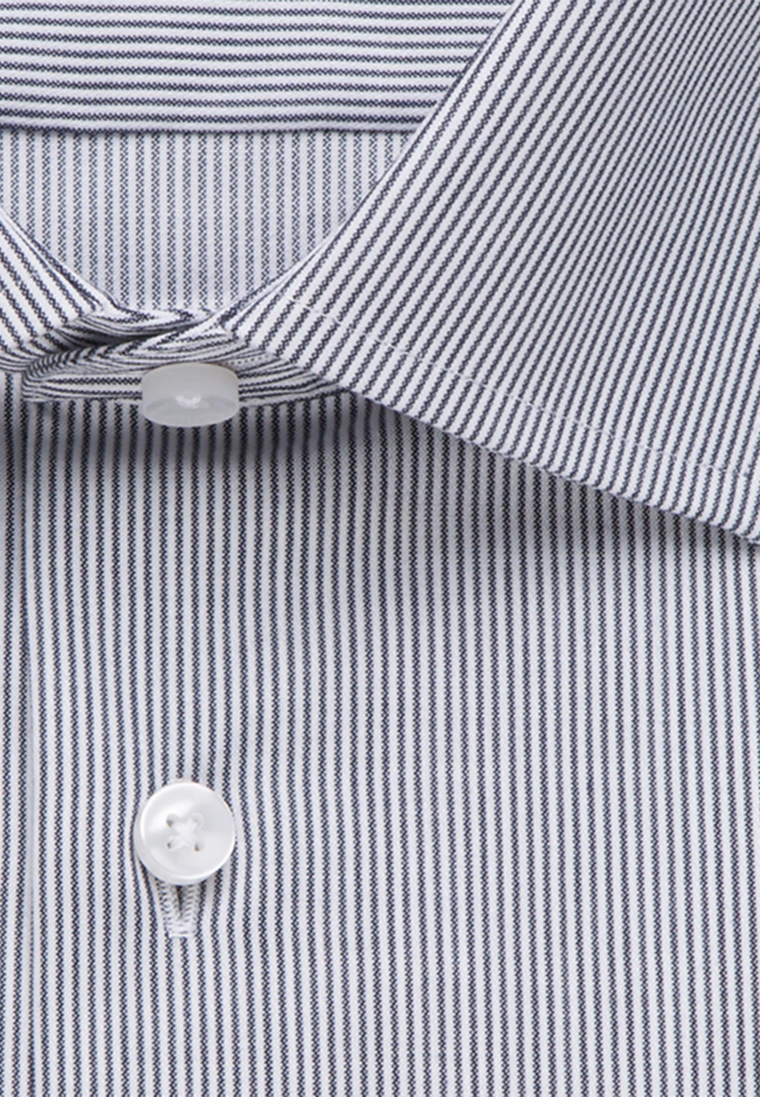 Bügelleichtes Cotele Business Hemd in Shaped mit Kentkragen in Dunkelblau |  Seidensticker Onlineshop