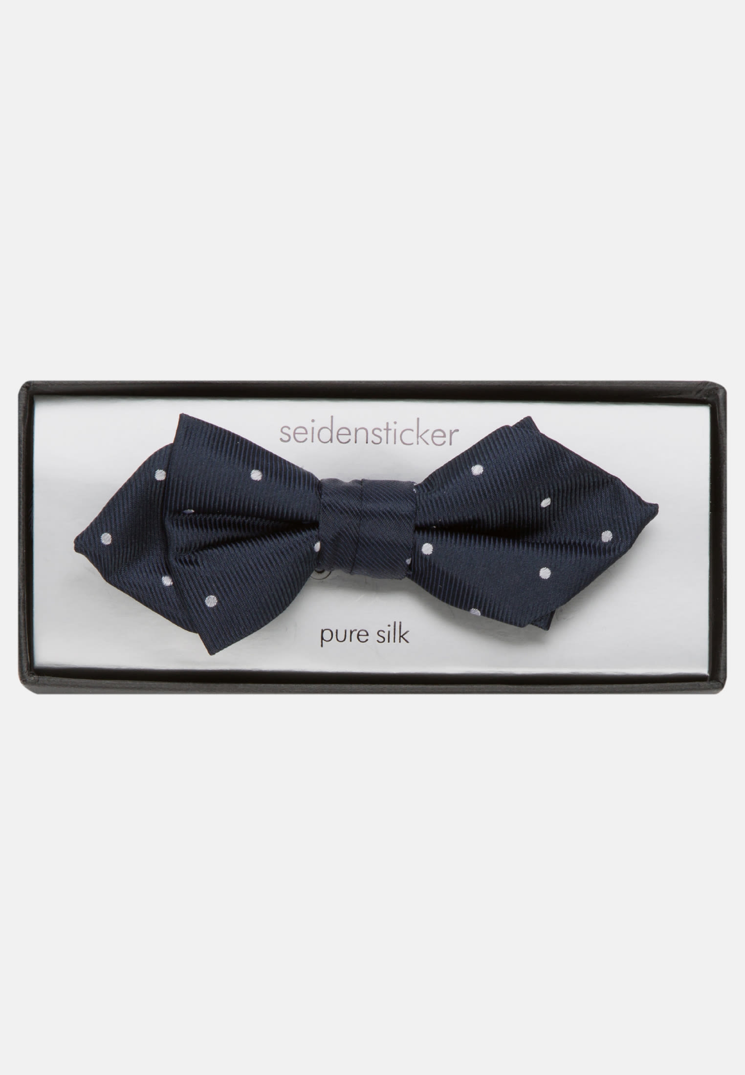 100% Silk made of 100% Silk in Dark blue |  Seidensticker Onlineshop