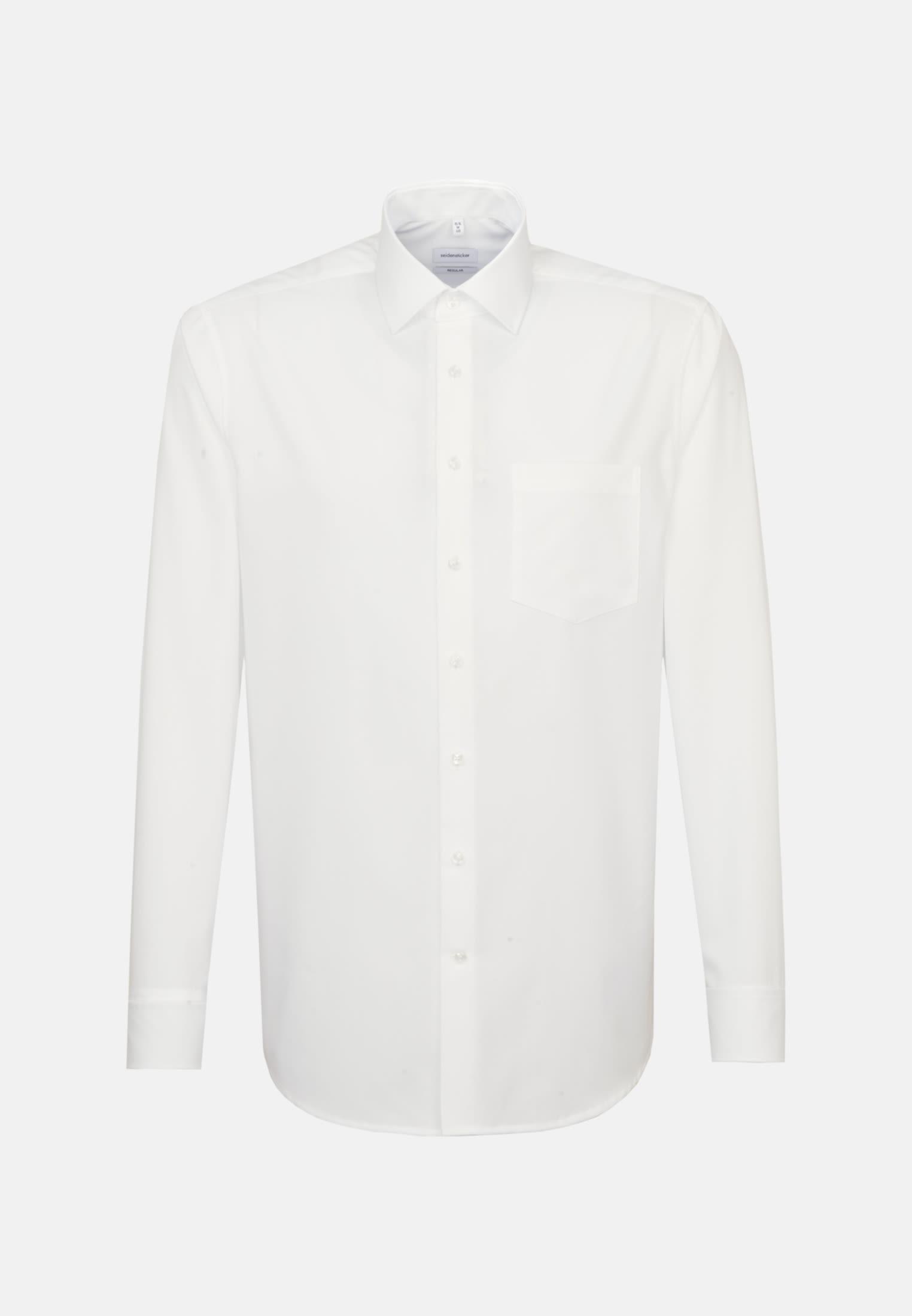 Bügelfreies Popeline Business Hemd in Regular mit Kentkragen in Braun |  Seidensticker Onlineshop