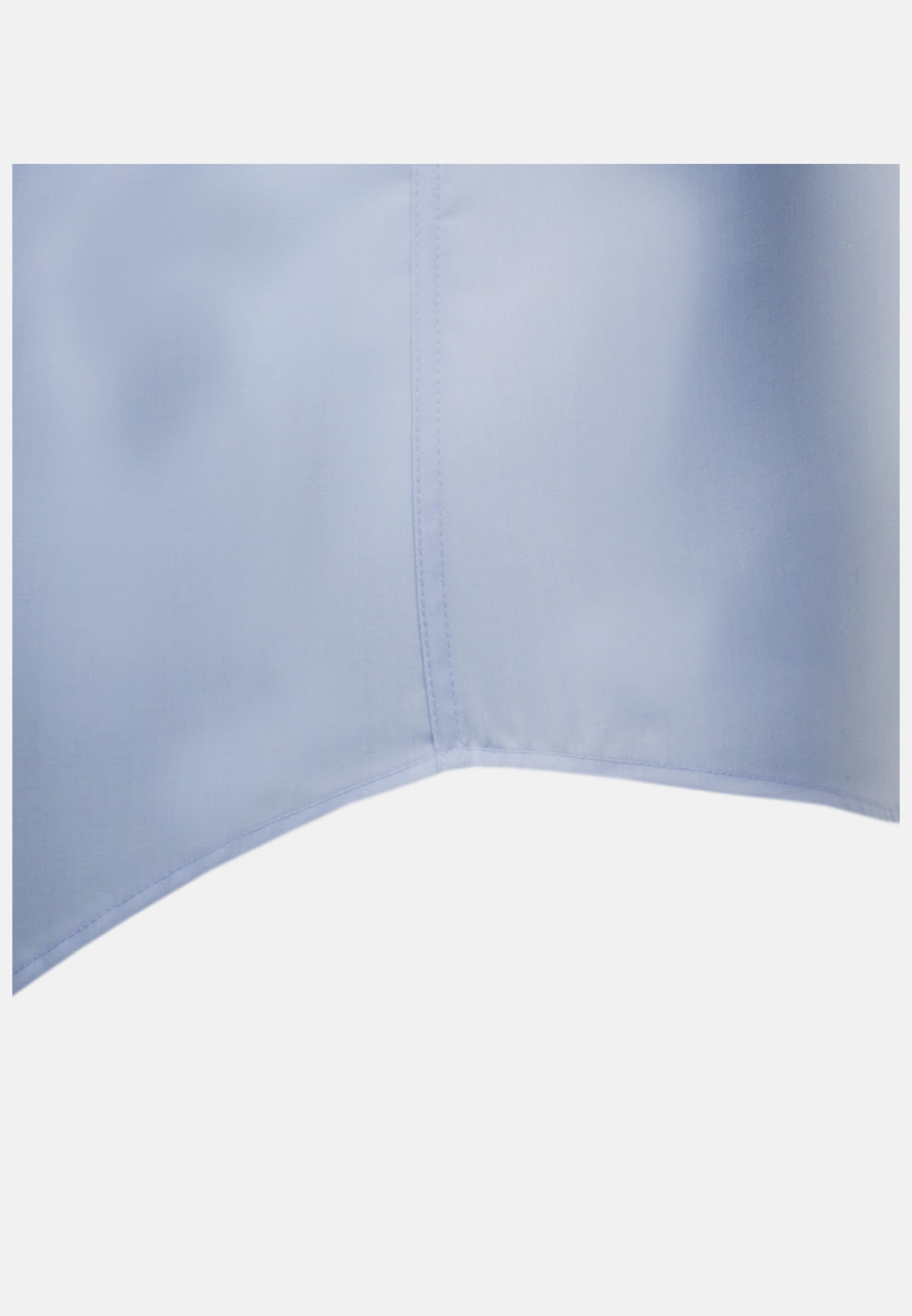 Non-iron Poplin Short arm Business Shirt in Slim with Kent-Collar in Light blue |  Seidensticker Onlineshop