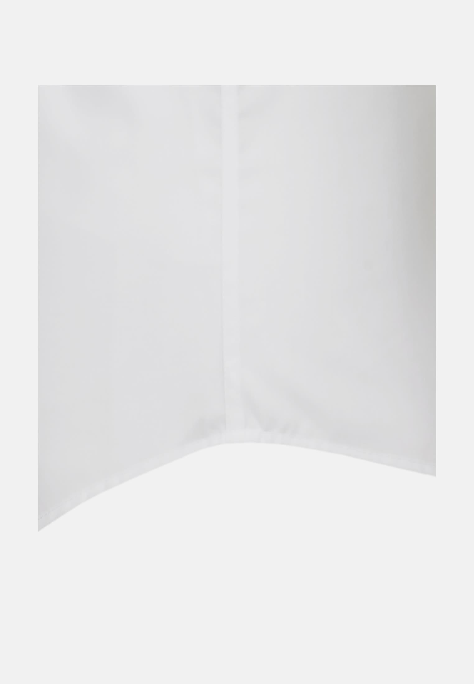 Non-iron Poplin Short sleeve Business Shirt in Slim with Kent-Collar in White    Seidensticker Onlineshop