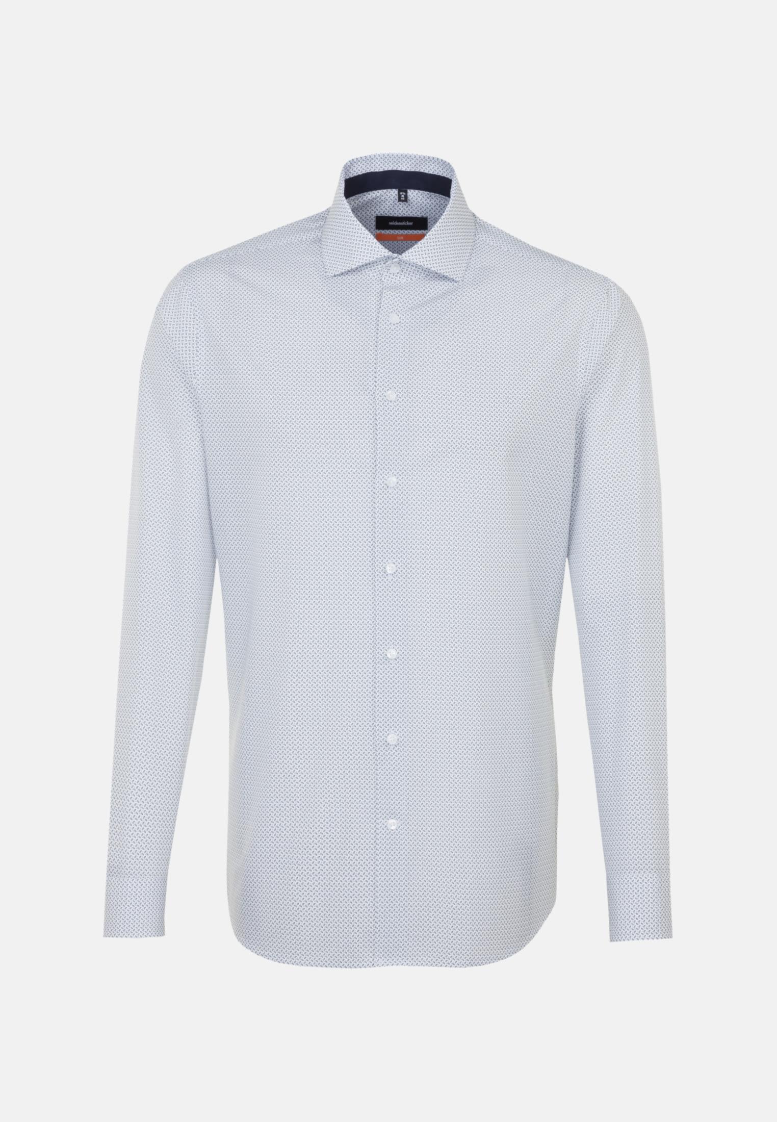 Easy-iron Poplin Business Shirt in Slim with Kent-Collar in White |  Seidensticker Onlineshop