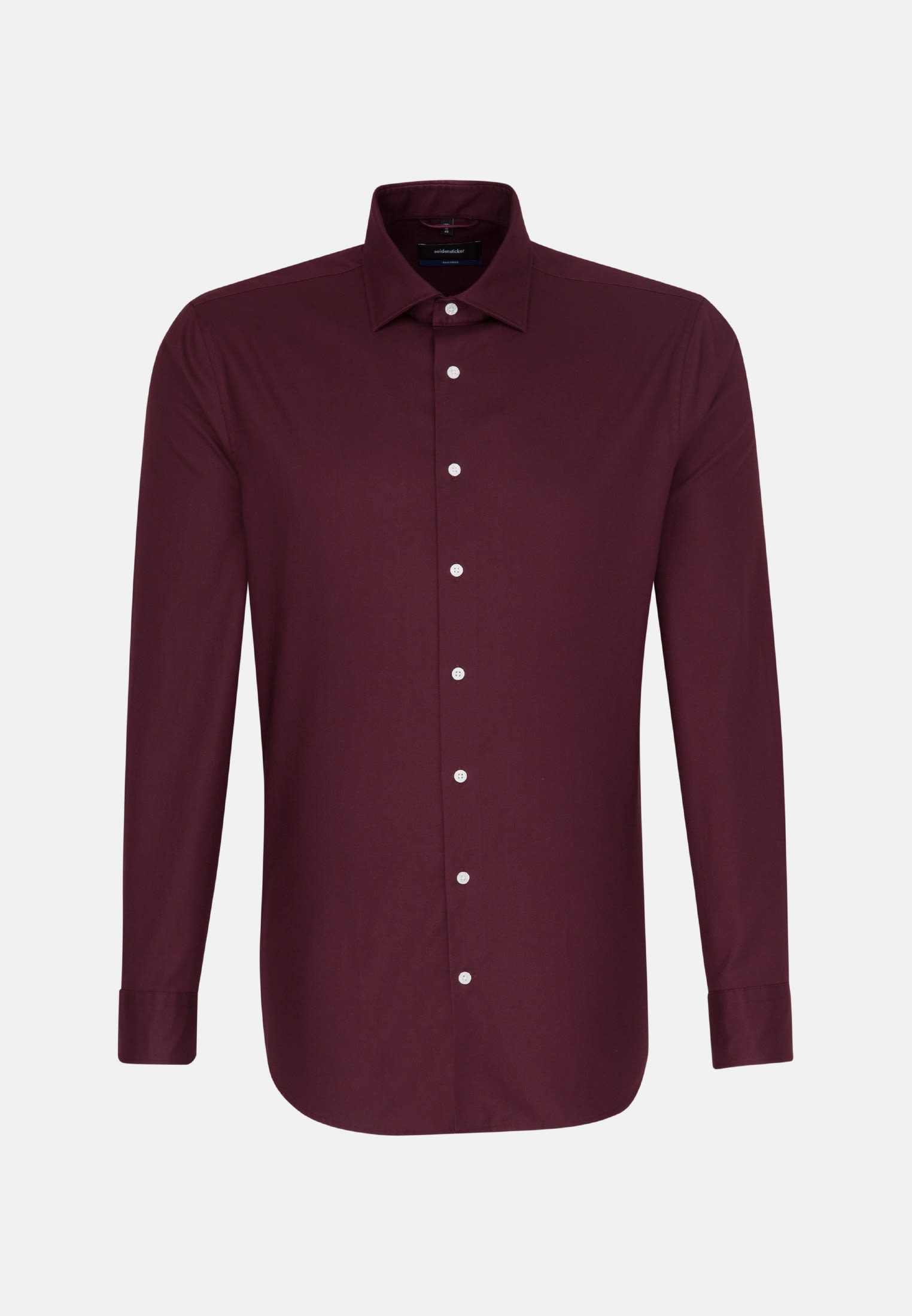 Easy-iron Twill Business Shirt in Shaped with Kent-Collar in Red |  Seidensticker Onlineshop