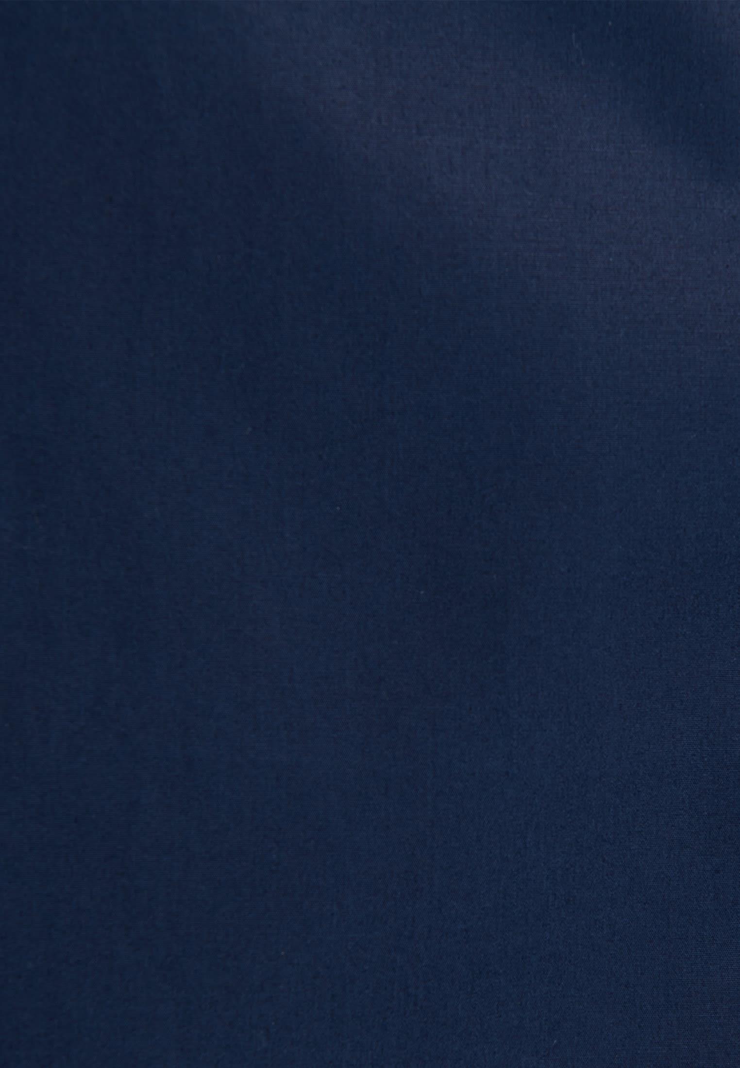 Poplin Long Blouse made of 100% Cotton in Dunkelblau |  Seidensticker Onlineshop