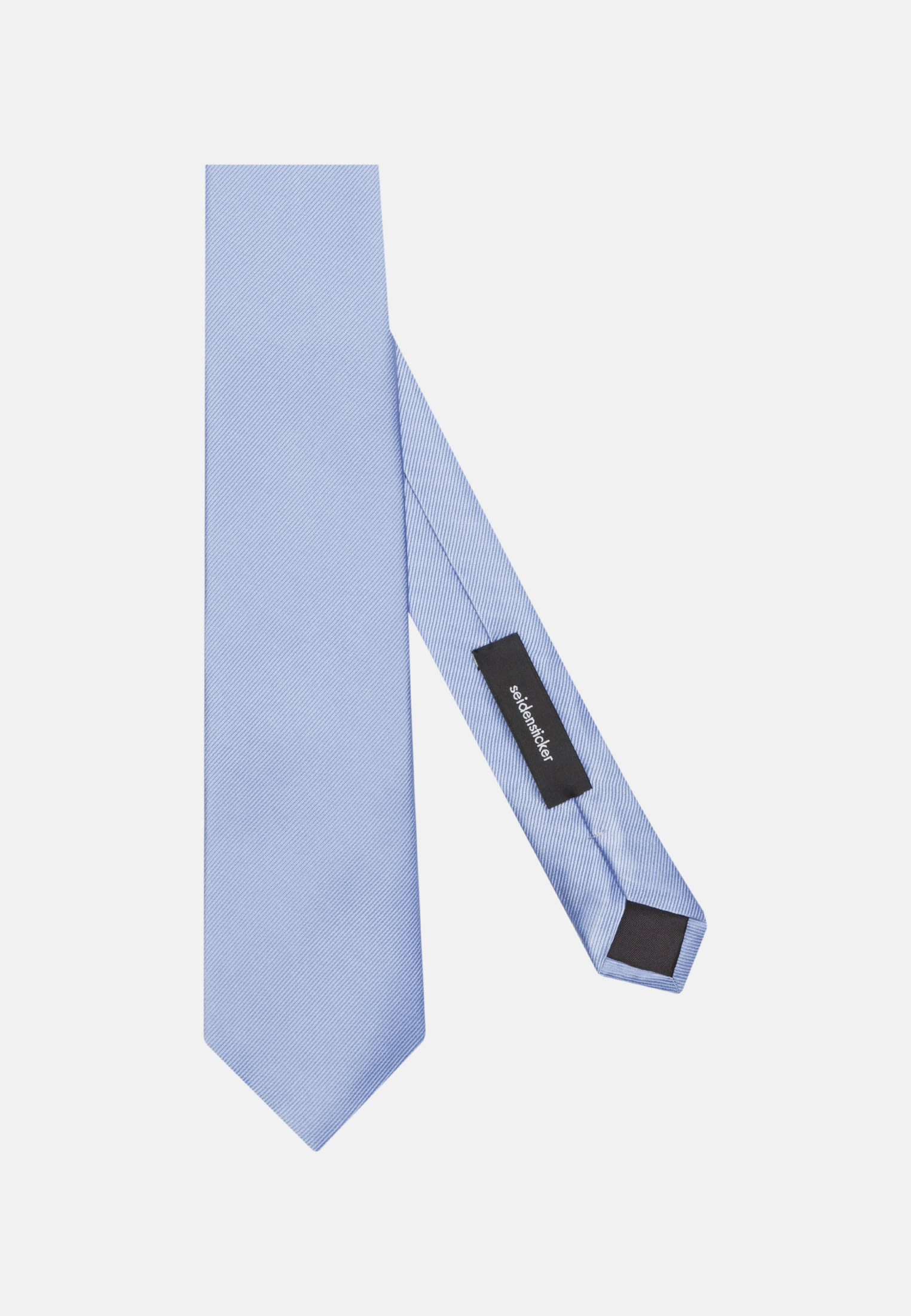 Tie made of 100% Silk 7 cm wide in uni hellblau |  Seidensticker Onlineshop