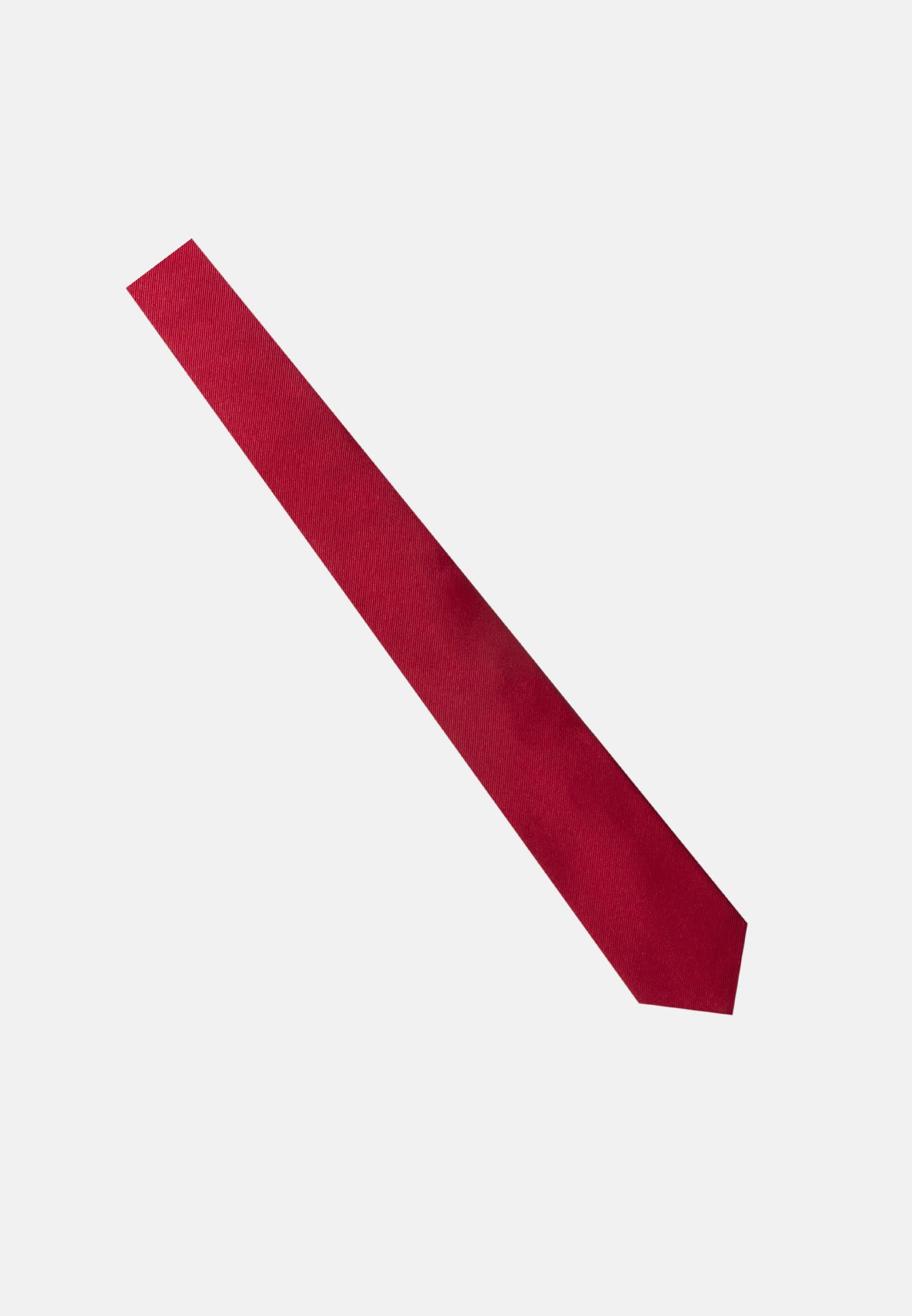 Tie made of 100% Silk 7 cm wide in Red |  Seidensticker Onlineshop