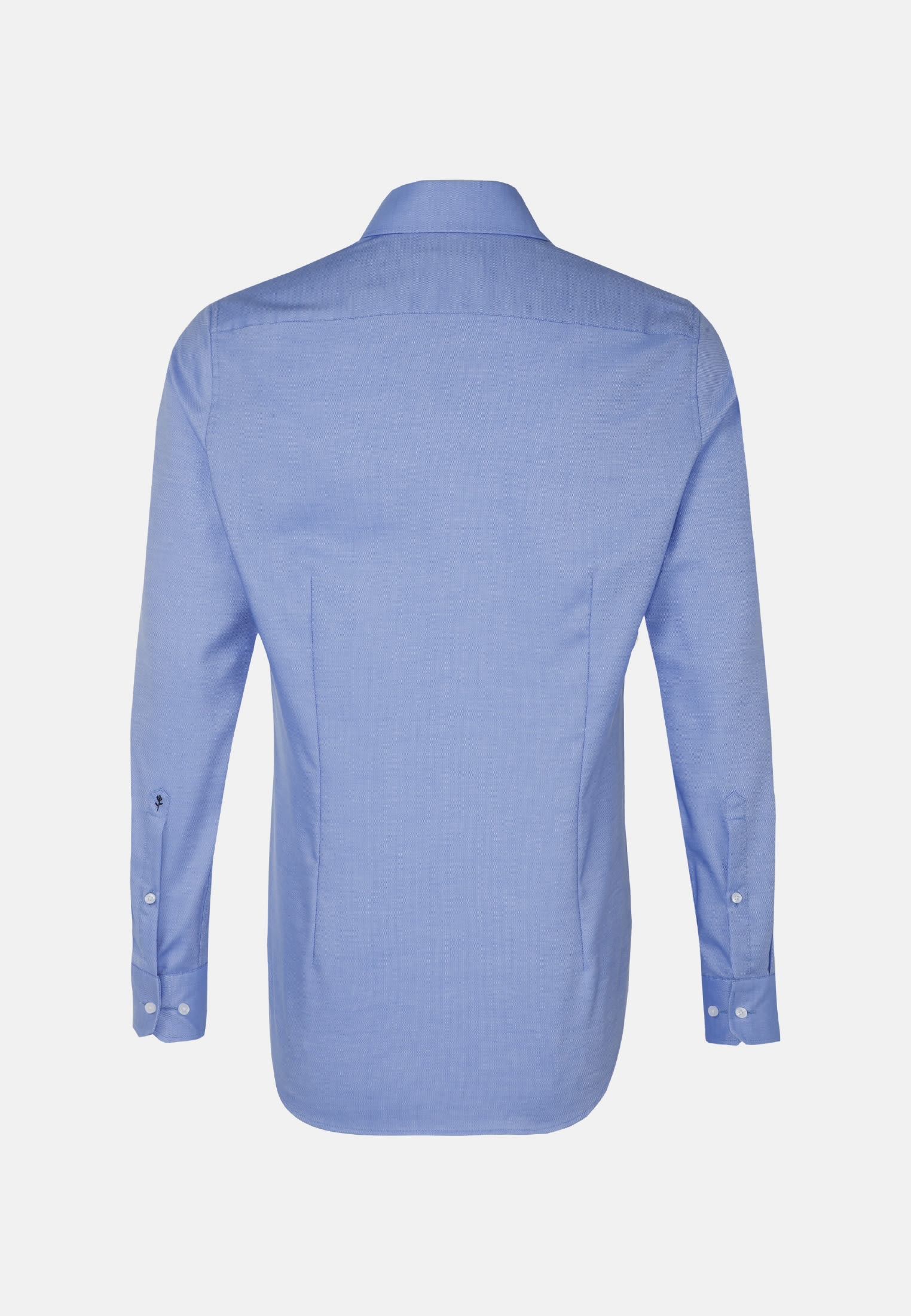 Non-iron Structure Business Shirt in Shaped with Kent-Collar in Light blue    Seidensticker Onlineshop