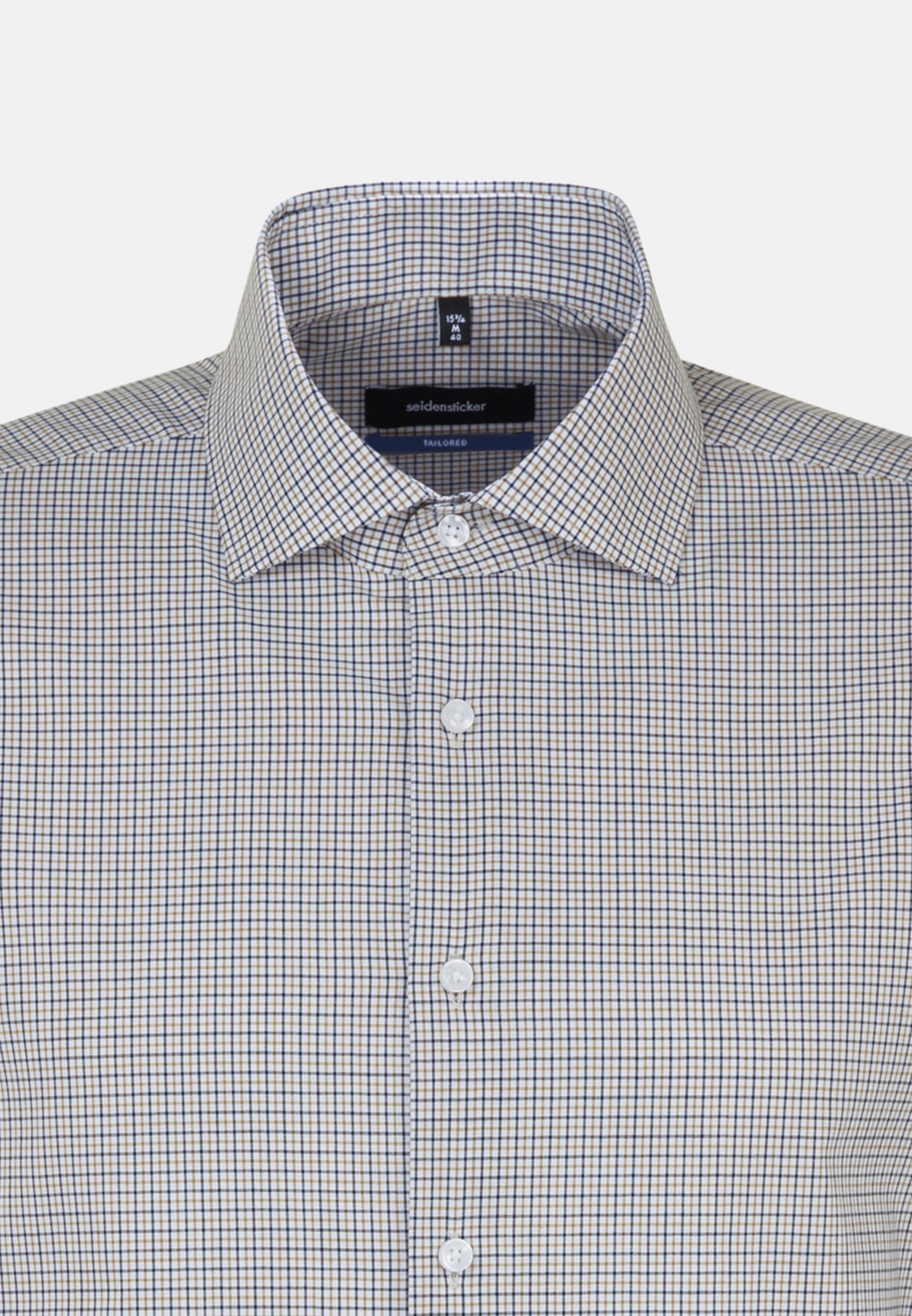 Non-iron Poplin Business Shirt in Shaped with Kent-Collar in Yellow |  Seidensticker Onlineshop