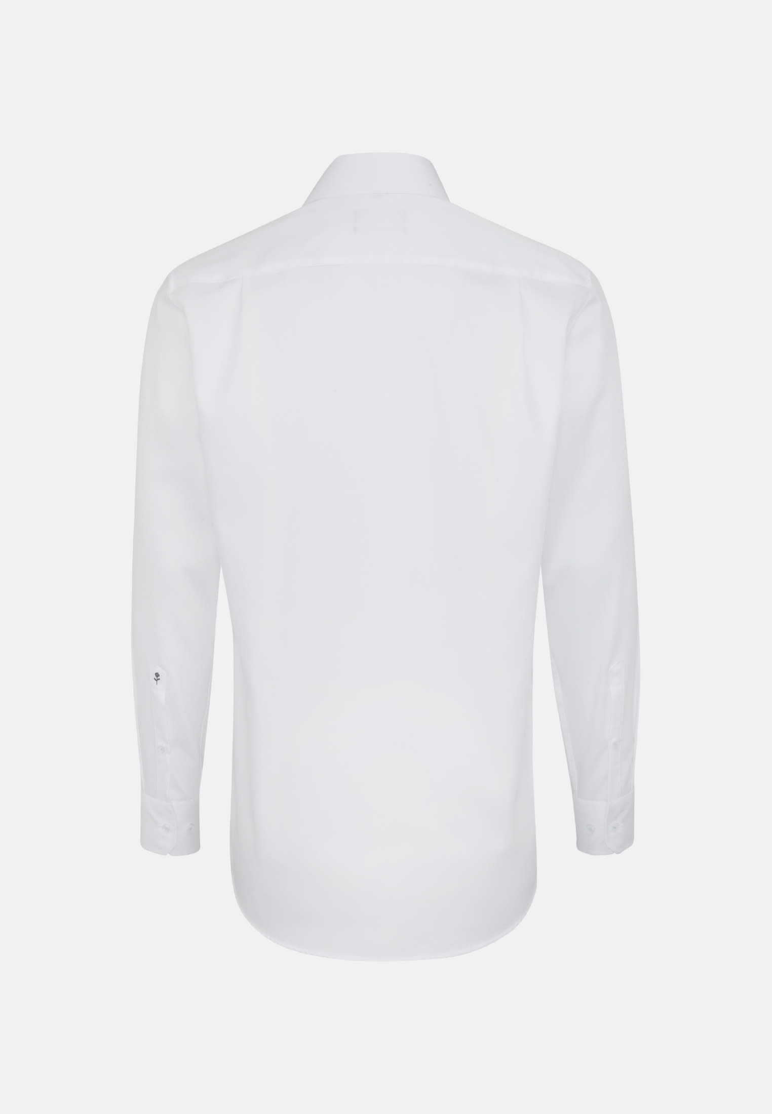 Non-iron Twill Business Shirt in Modern with Kent-Collar and extra long arm in weiß    Seidensticker Onlineshop