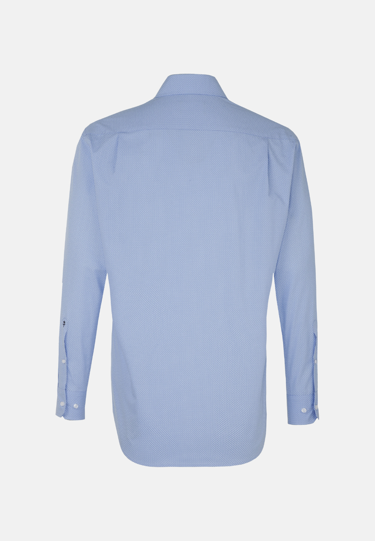 Easy-iron Poplin Business Shirt in Regular with Kent-Collar in Light blue |  Seidensticker Onlineshop