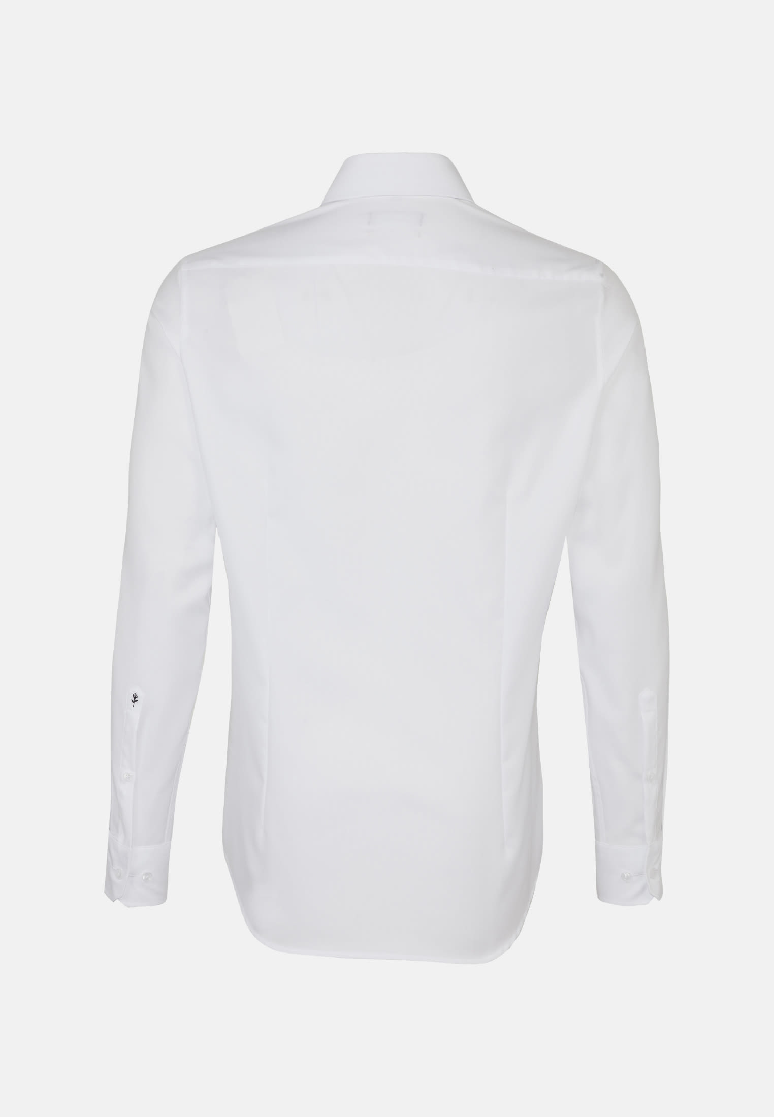 Non-iron Structure Business Shirt in Slim with Kent-Collar and extra long sleeve in White |  Seidensticker Onlineshop