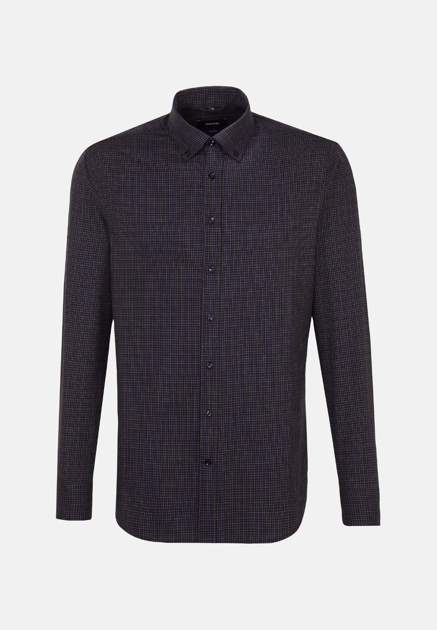 Easy-iron Twill Business Shirt in Shaped with Button-Down-Collar in Purple |  Seidensticker Onlineshop