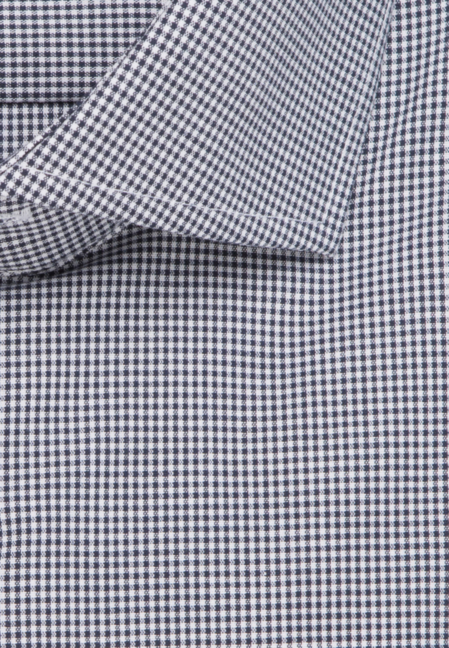 Bügelfreies Popeline Business Hemd in Regular mit Kentkragen und extra langem Arm in Dunkelblau |  Seidensticker Onlineshop