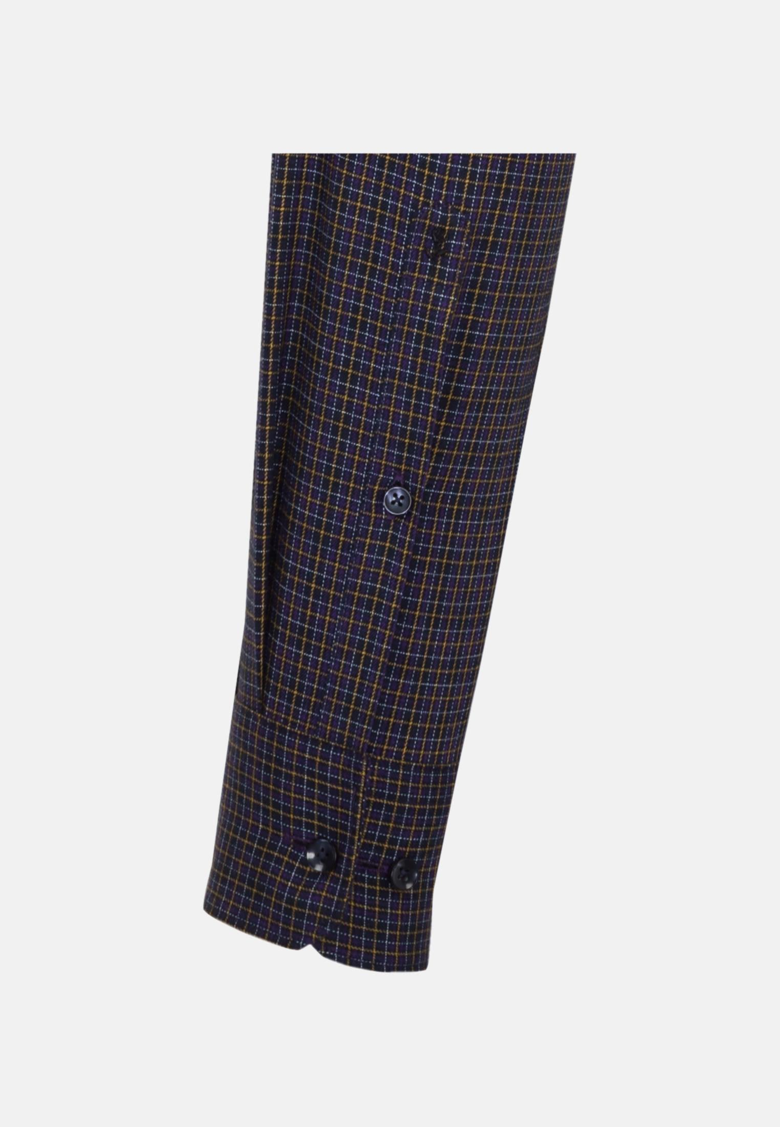 Easy-iron Twill Business Shirt in X-Slim with Button-Down-Collar in lila |  Seidensticker Onlineshop
