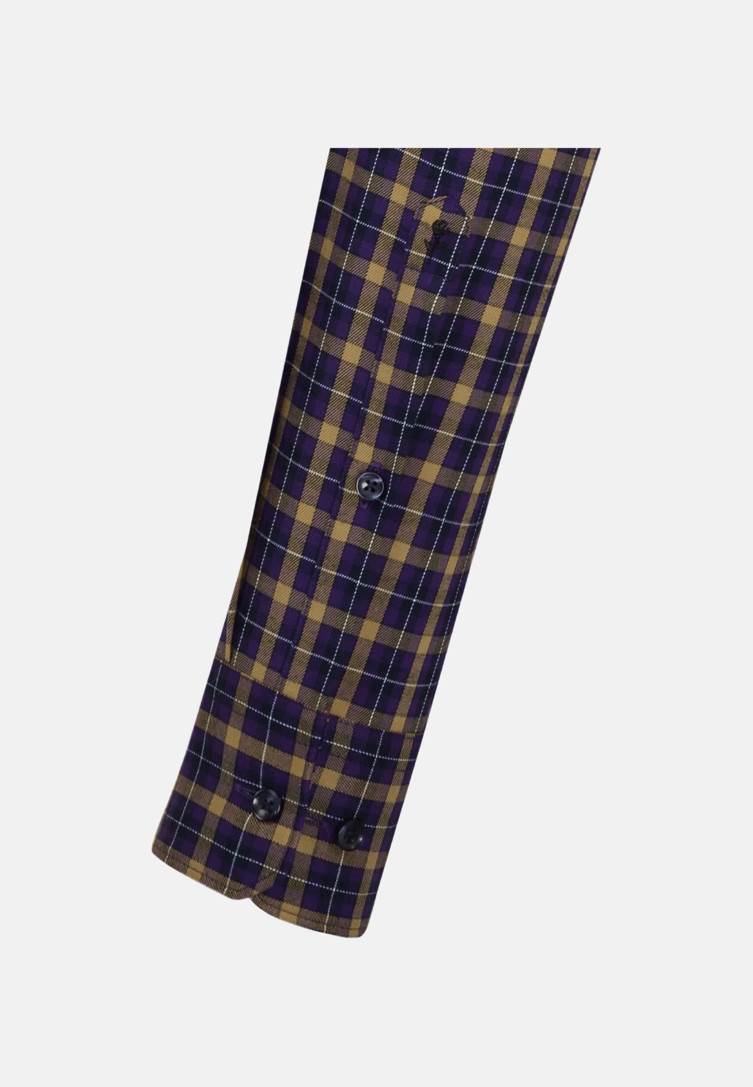 Easy-iron Twill Business Shirt in Slim with Button-Down-Collar in gelb |  Seidensticker Onlineshop