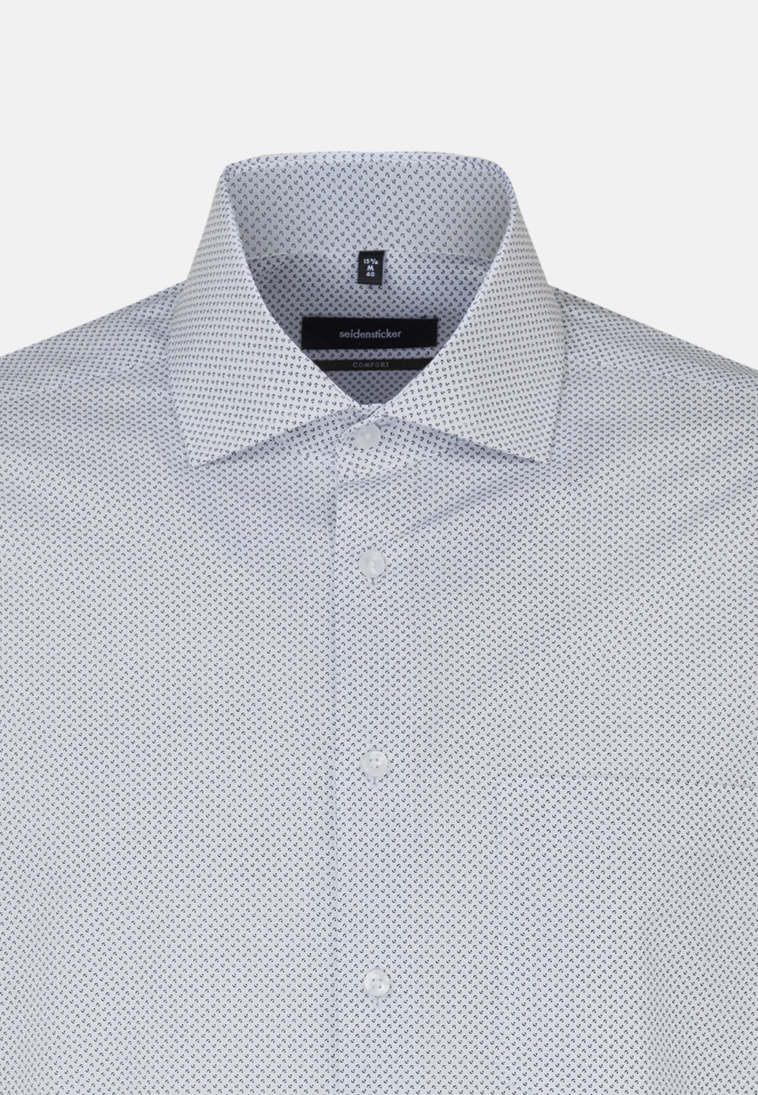 Easy-iron Poplin Business Shirt in Comfort with Kent-Collar and extra long sleeve in White |  Seidensticker Onlineshop