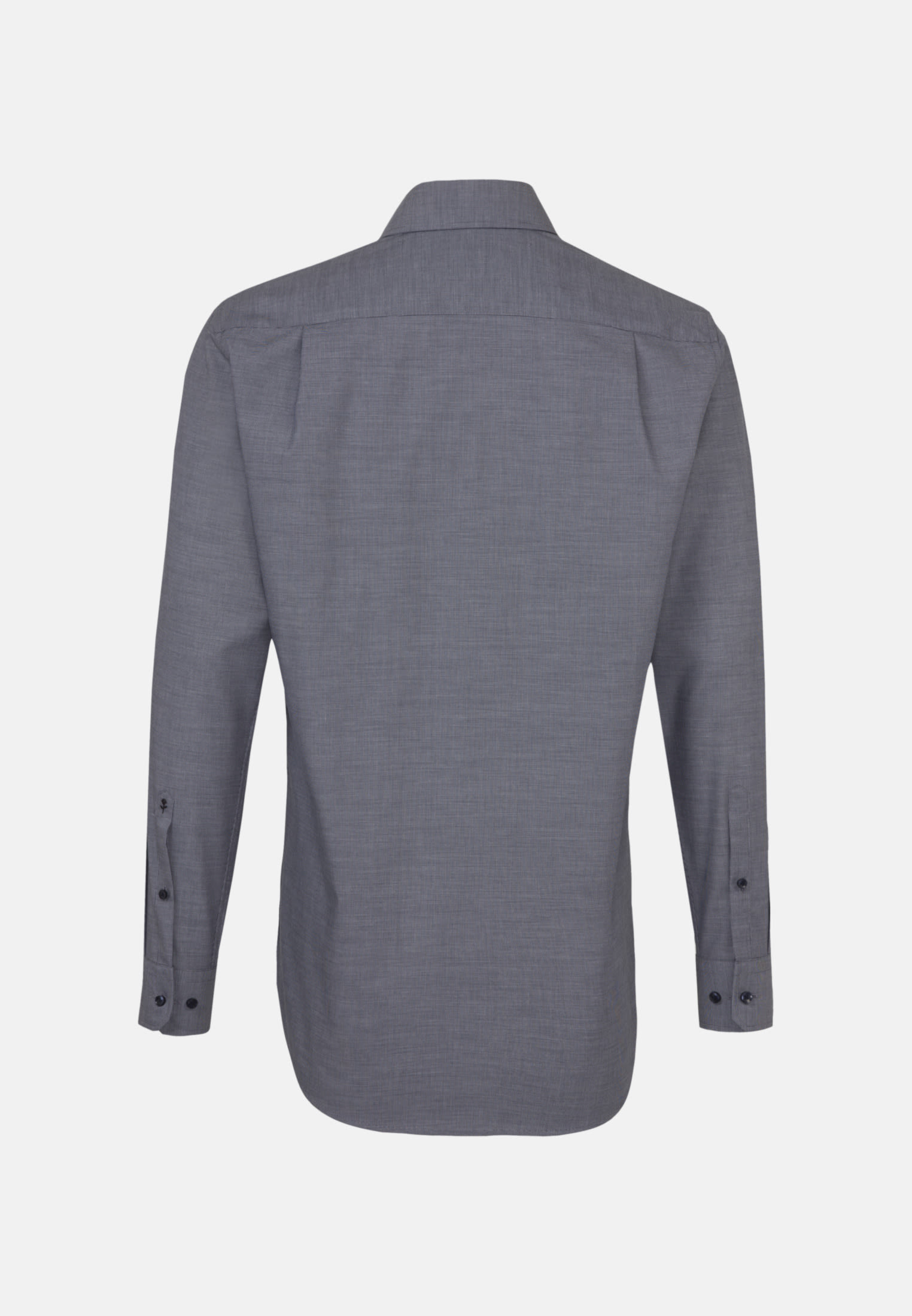 Non-iron Structure Business Shirt in Modern with Kent-Collar in blau |  Seidensticker Onlineshop