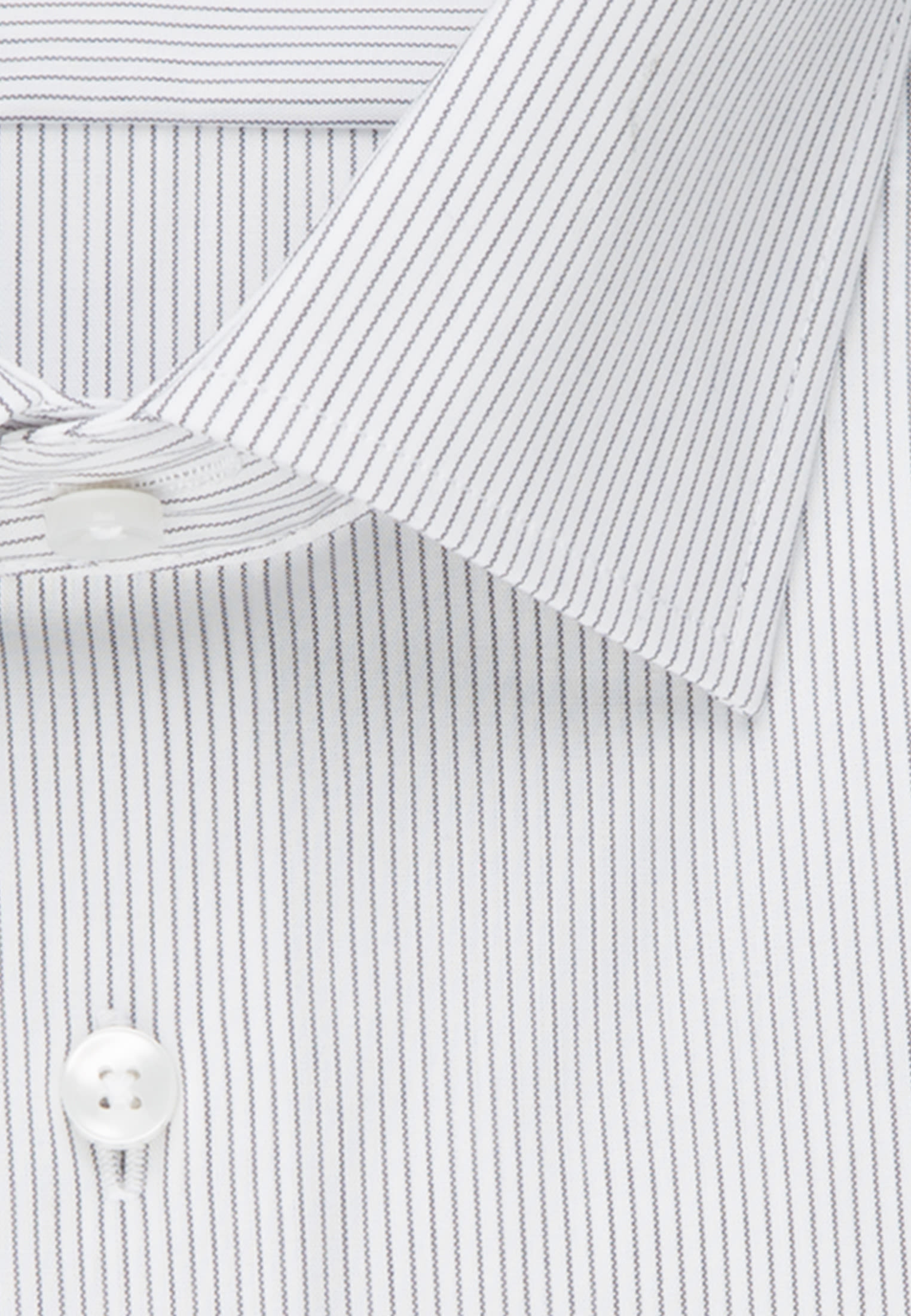 Non-iron Poplin Business Shirt in Shaped with Kent-Collar and extra long sleeve in Grey |  Seidensticker Onlineshop