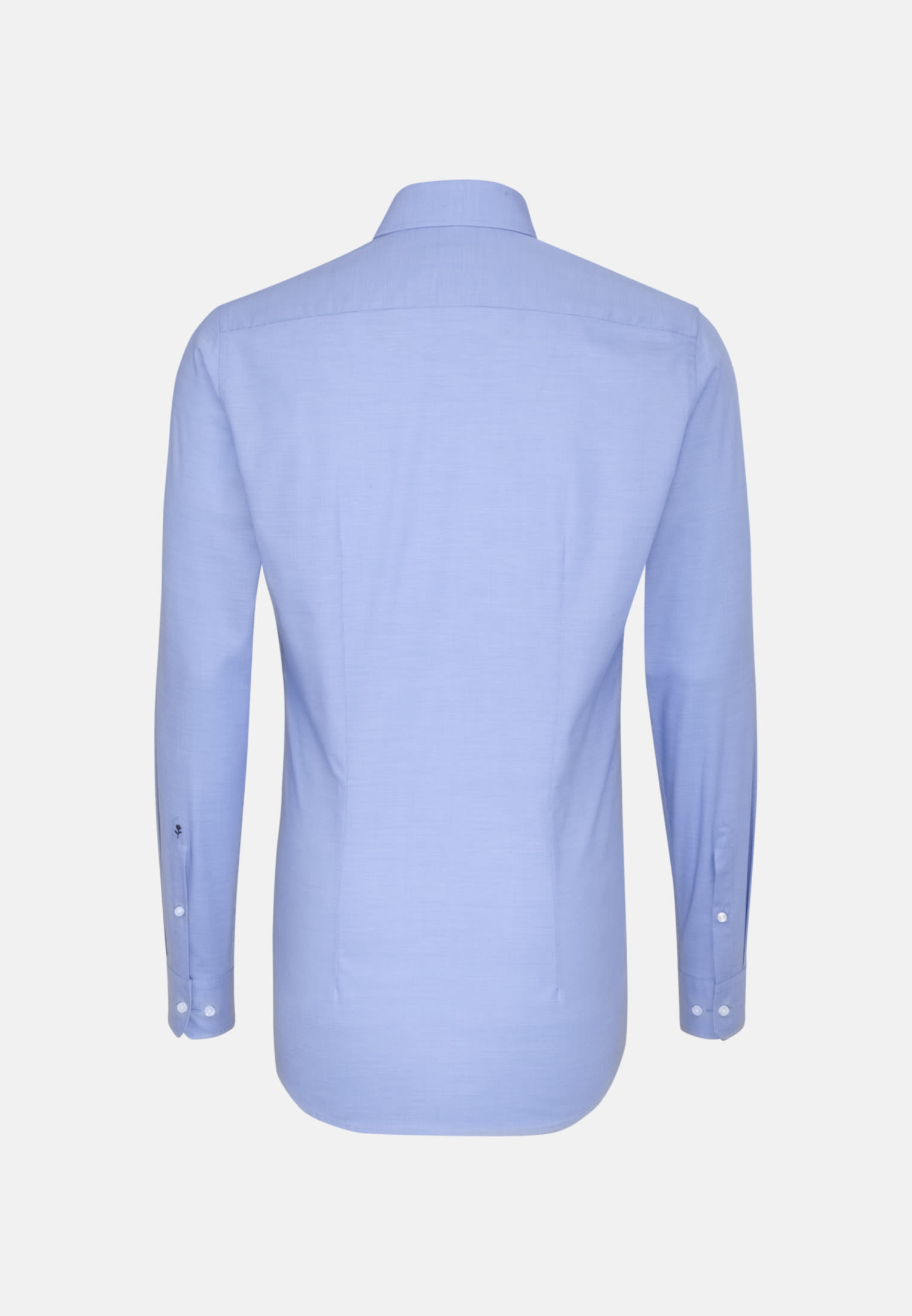 Easy-iron Structure Business Shirt in X-Slim with Kent-Collar and extra long arm in Light blue |  Seidensticker Onlineshop