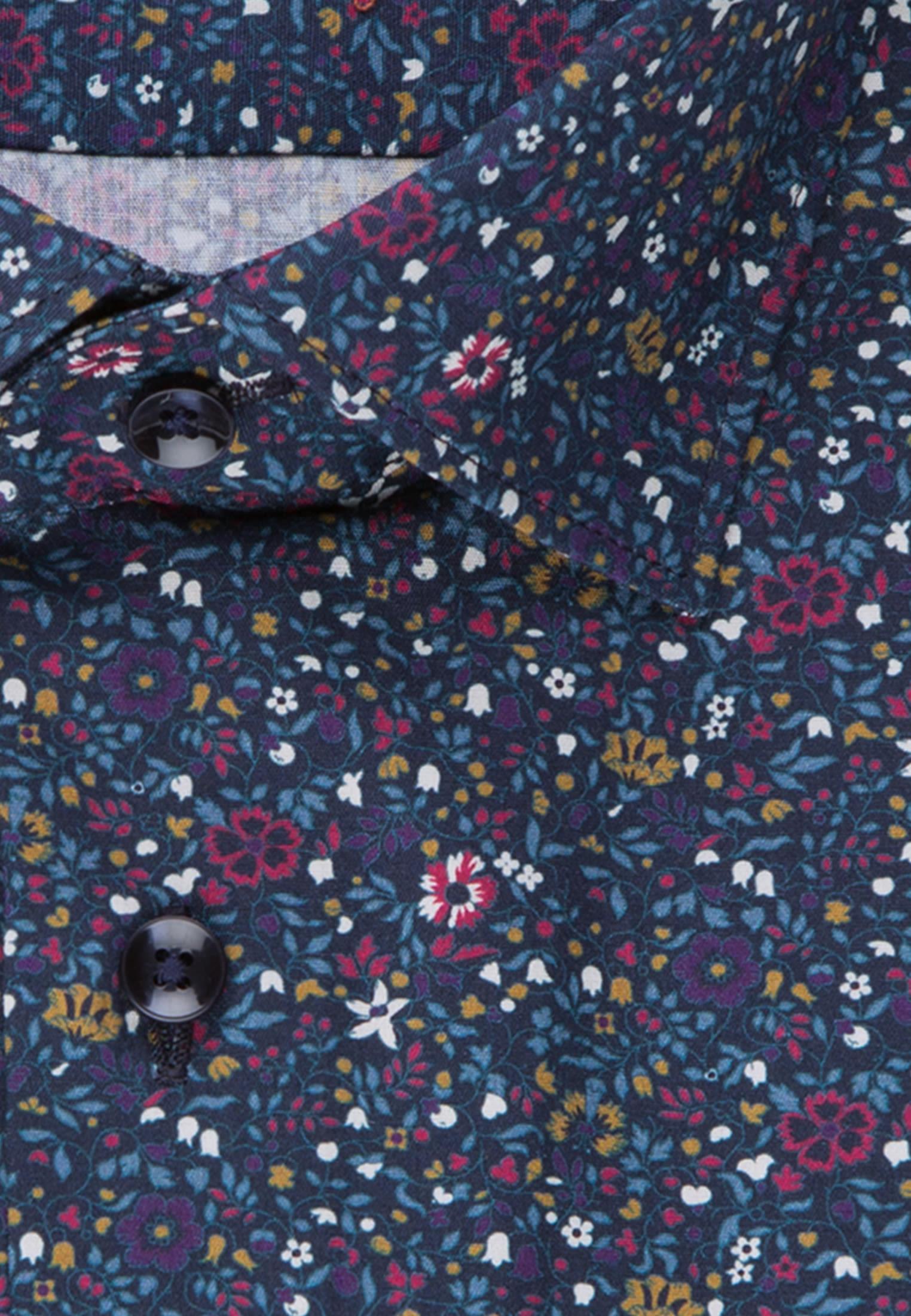Easy-iron Poplin Business Shirt in Slim with Kent-Collar in purple |  Seidensticker Onlineshop