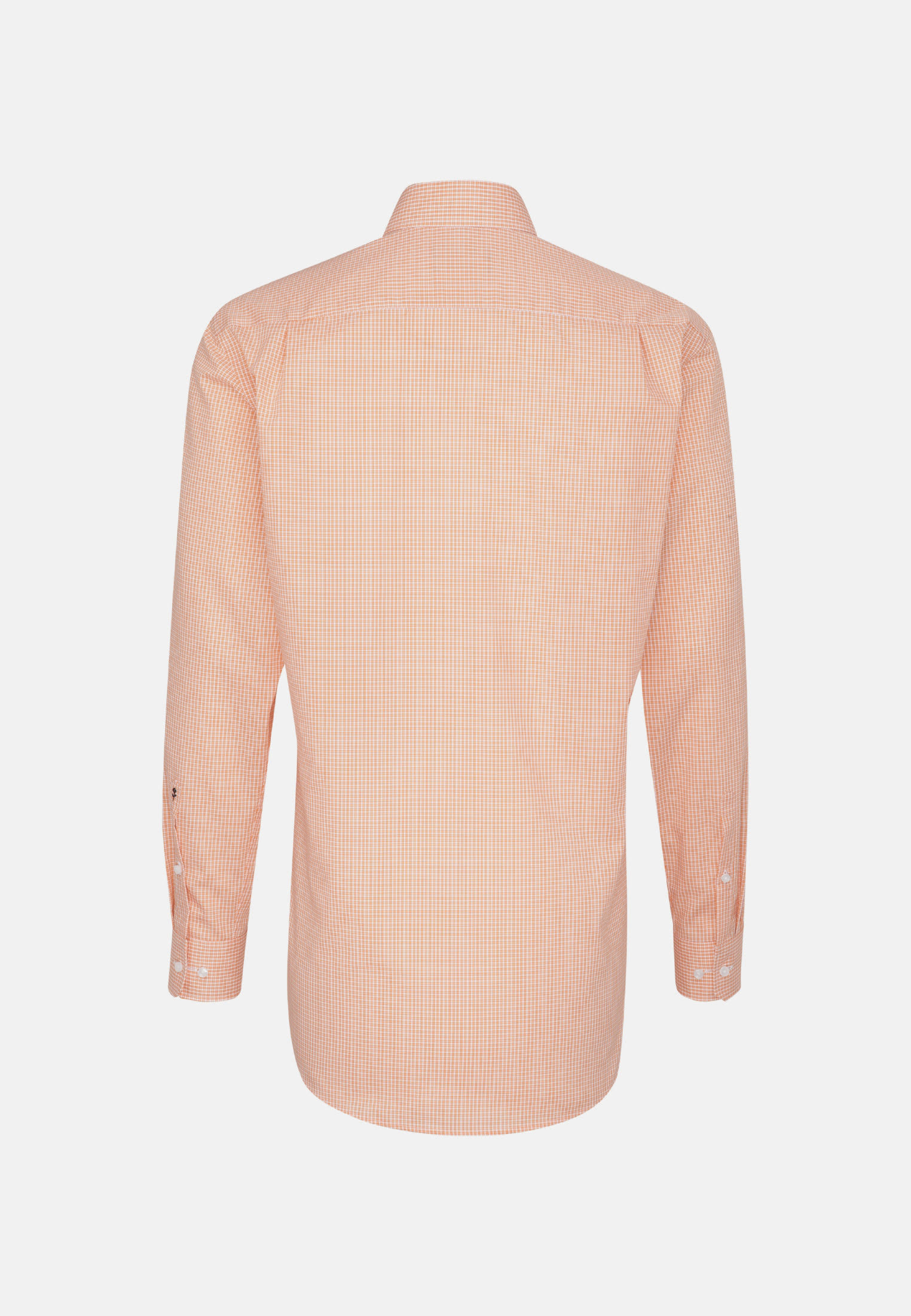 Non-iron Poplin Business Shirt in Comfort with Kent-Collar and extra long arm in Orange |  Seidensticker Onlineshop