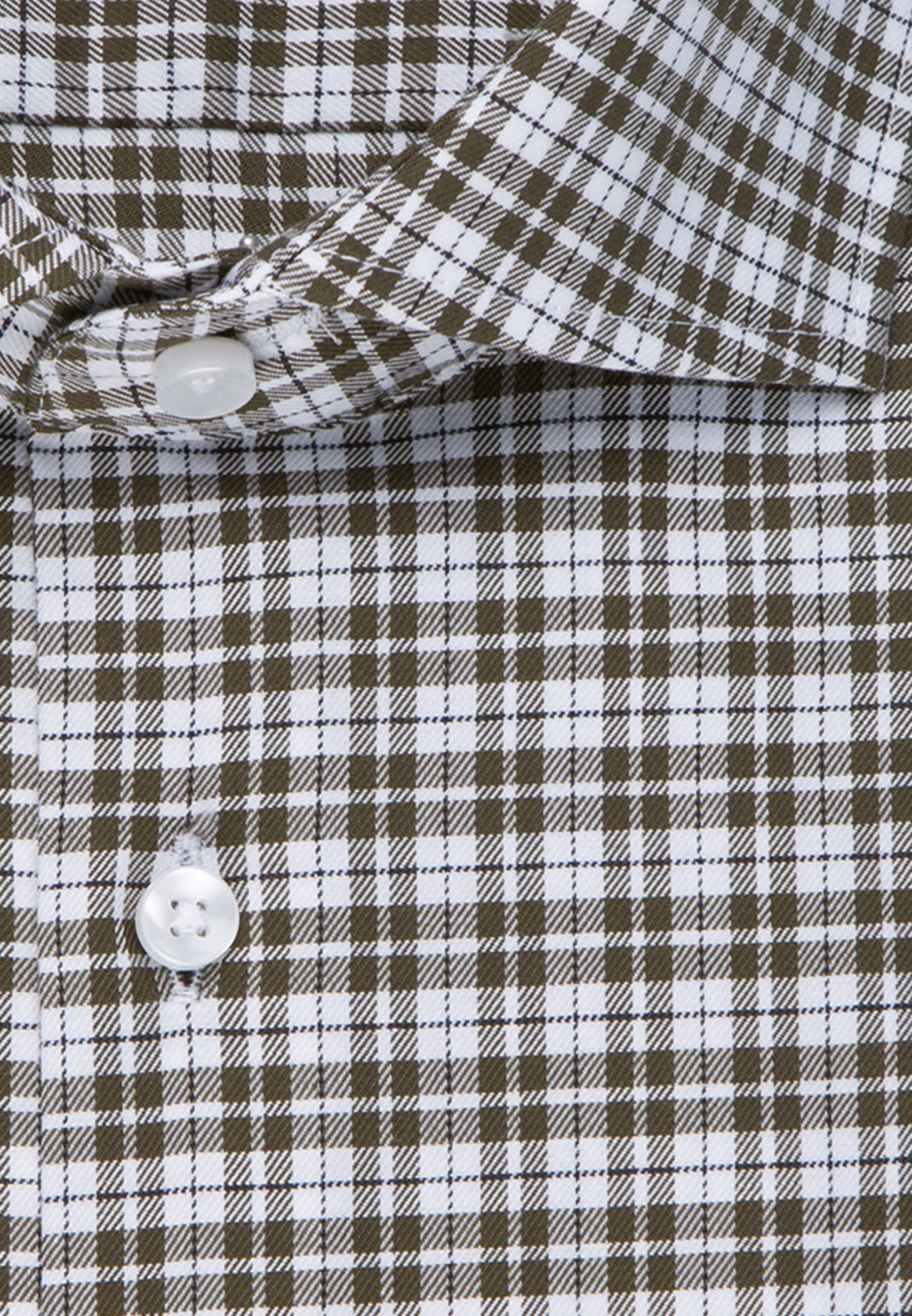 Non-iron Twill Business Shirt in Regular with Kent-Collar in Green |  Seidensticker Onlineshop