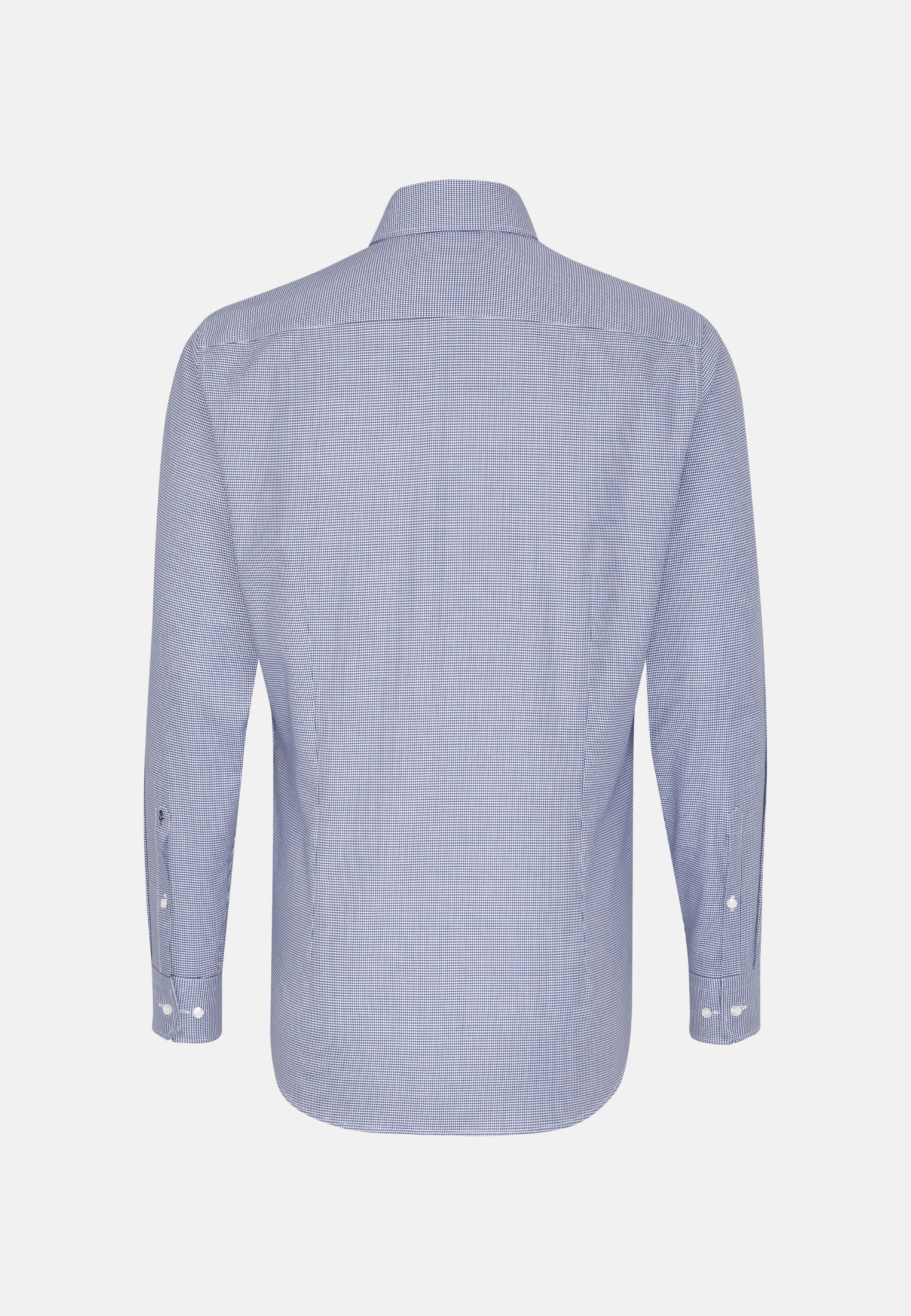 Easy-iron Twill Business Shirt in Shaped with Kent-Collar in Medium blue |  Seidensticker Onlineshop