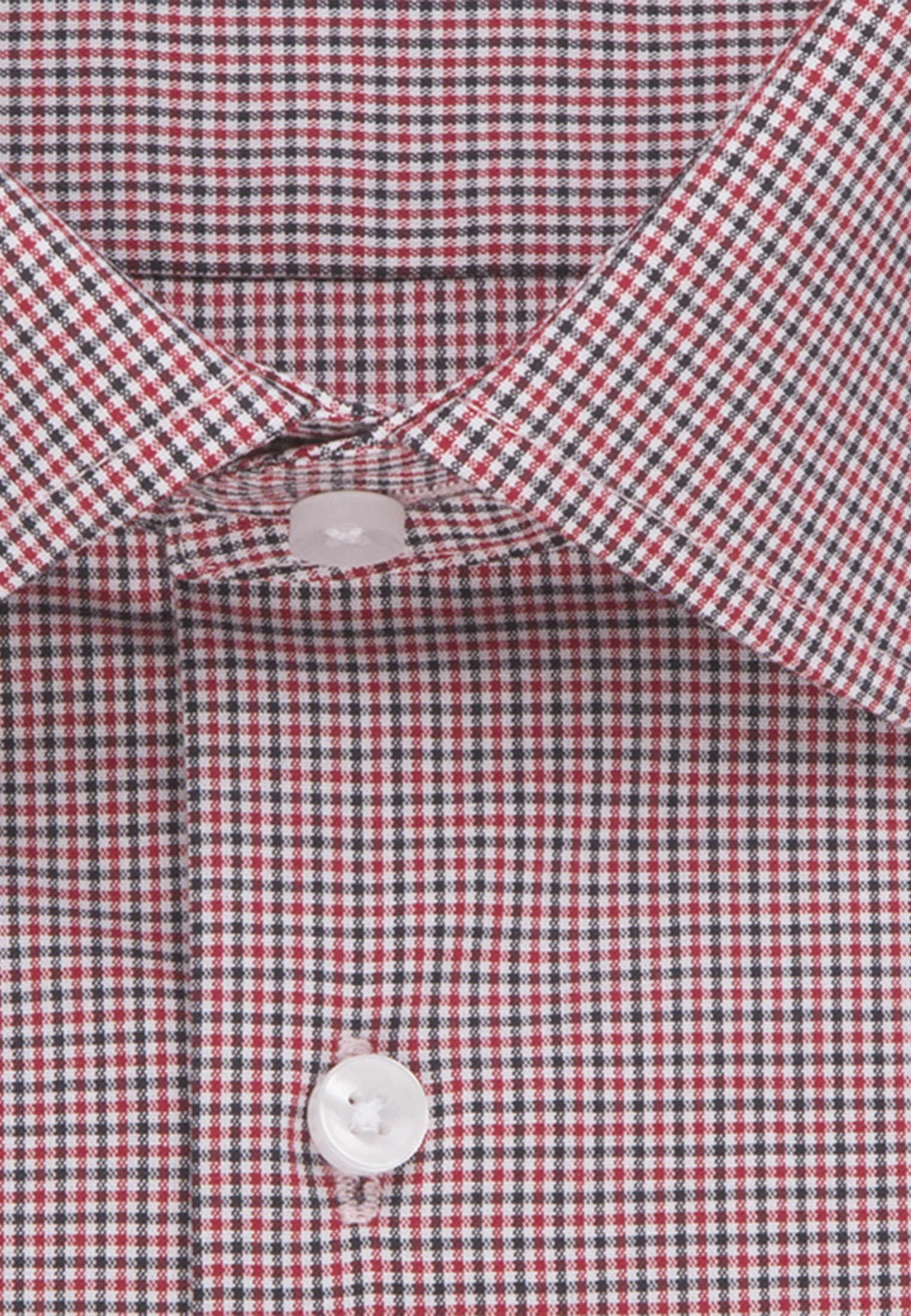 Non-iron Poplin Business Shirt in X-Slim with Kent-Collar in rot |  Seidensticker Onlineshop