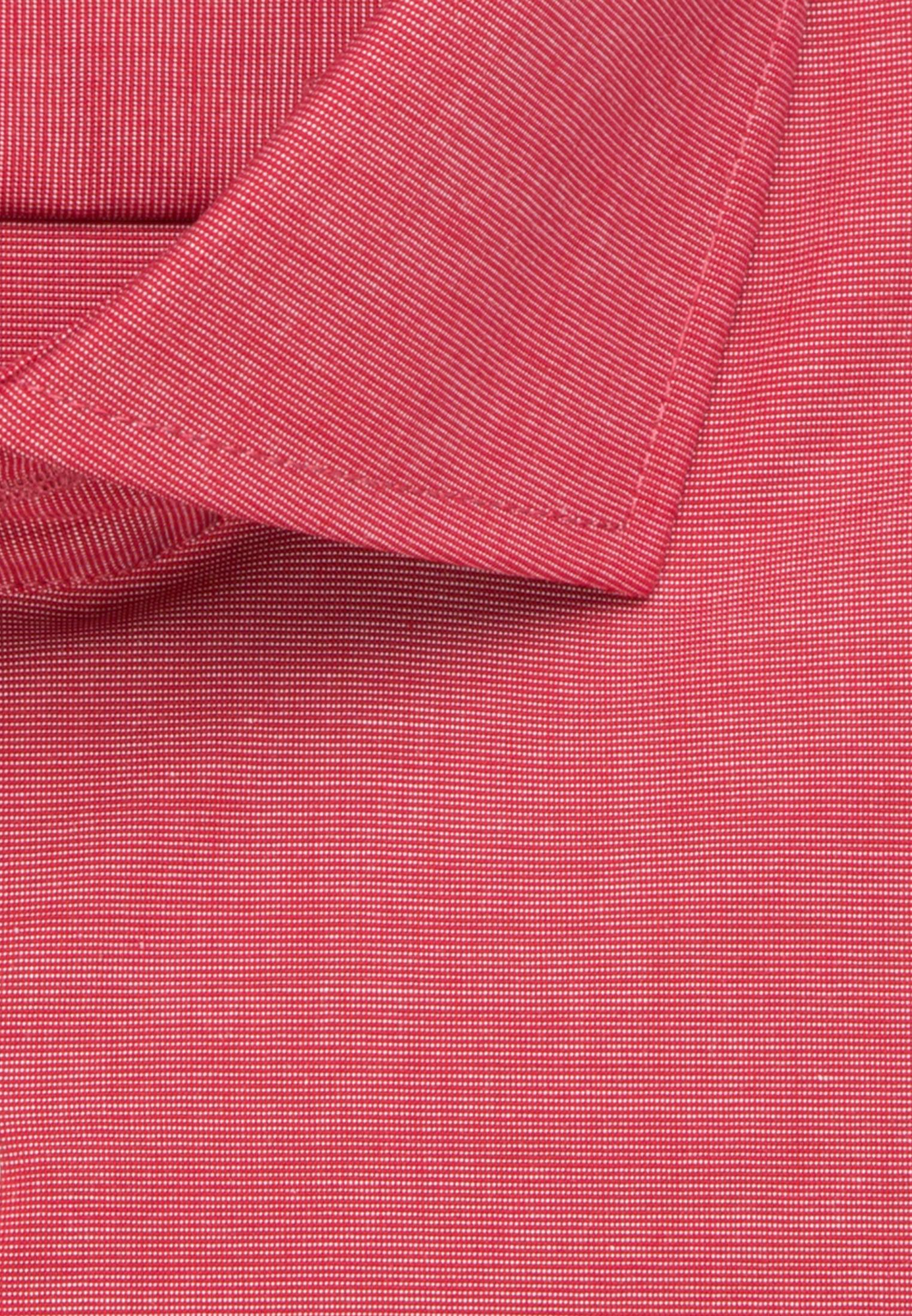 Bügelfreies Fil a fil Business Hemd in Regular mit Kentkragen in Rot |  Seidensticker Onlineshop