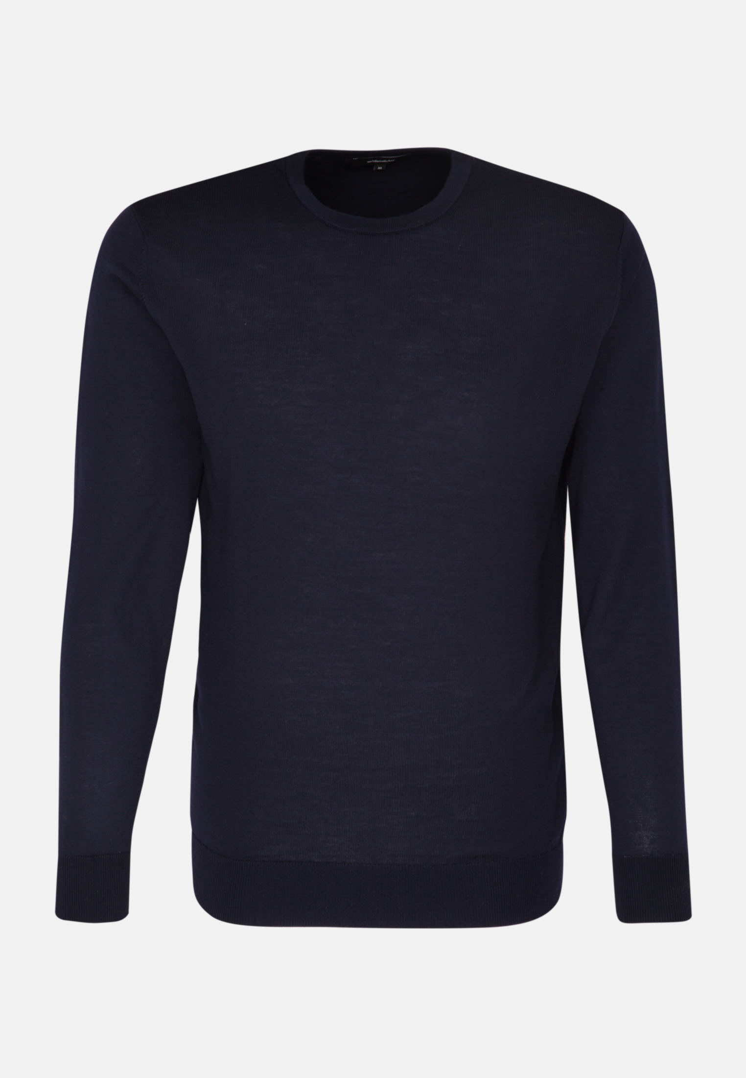 Crew Neck Pullover made of 100% Wool in Dark blue |  Seidensticker Onlineshop