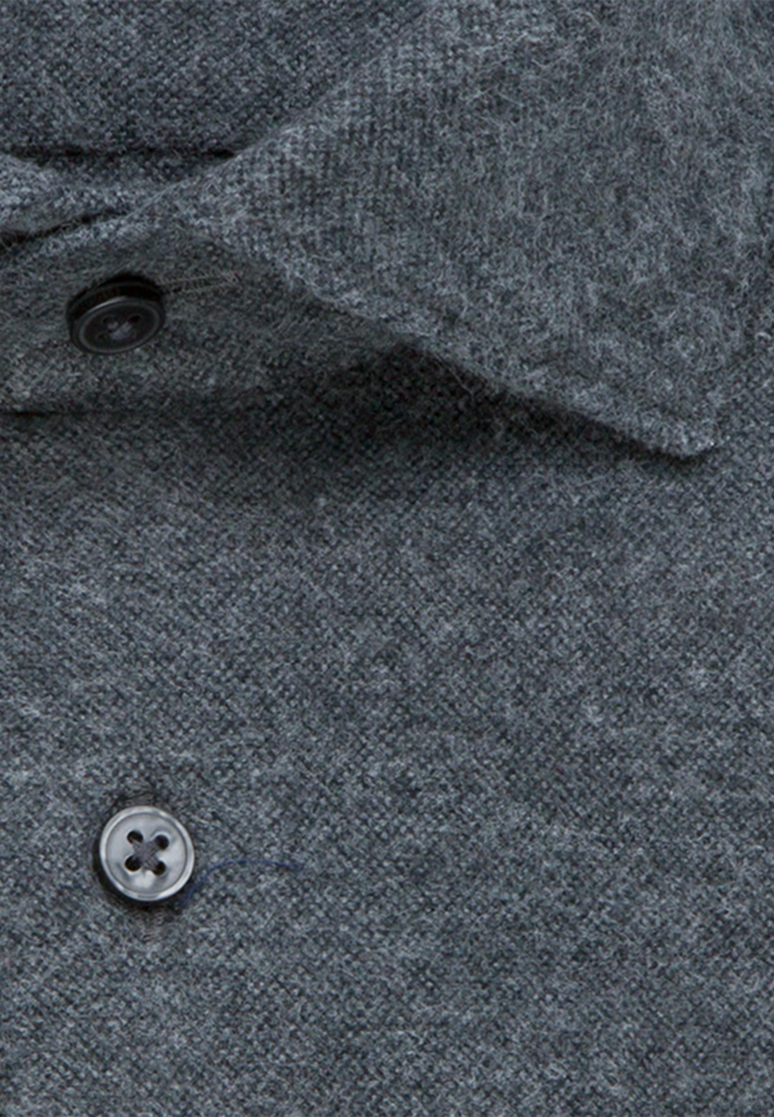 Easy-iron Oxford Business Shirt in Slim with Kent-Collar in Grey |  Seidensticker Onlineshop