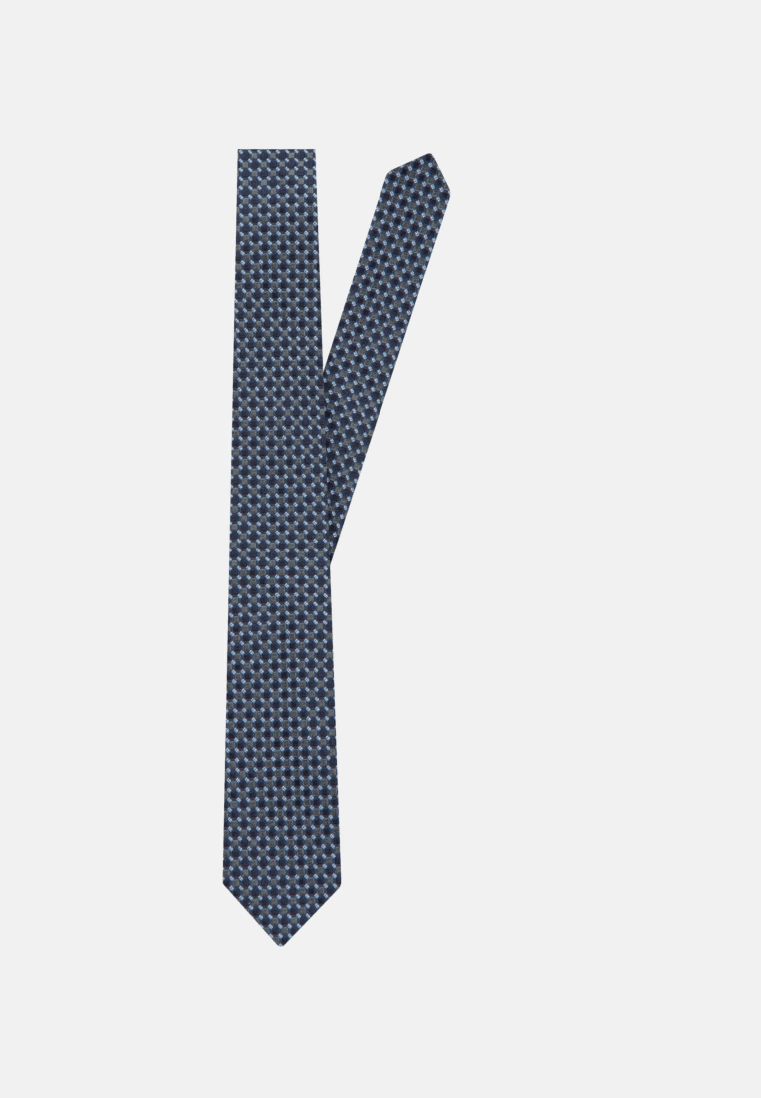 Tie made of 100% Silk 7 cm wide in Grey |  Seidensticker Onlineshop