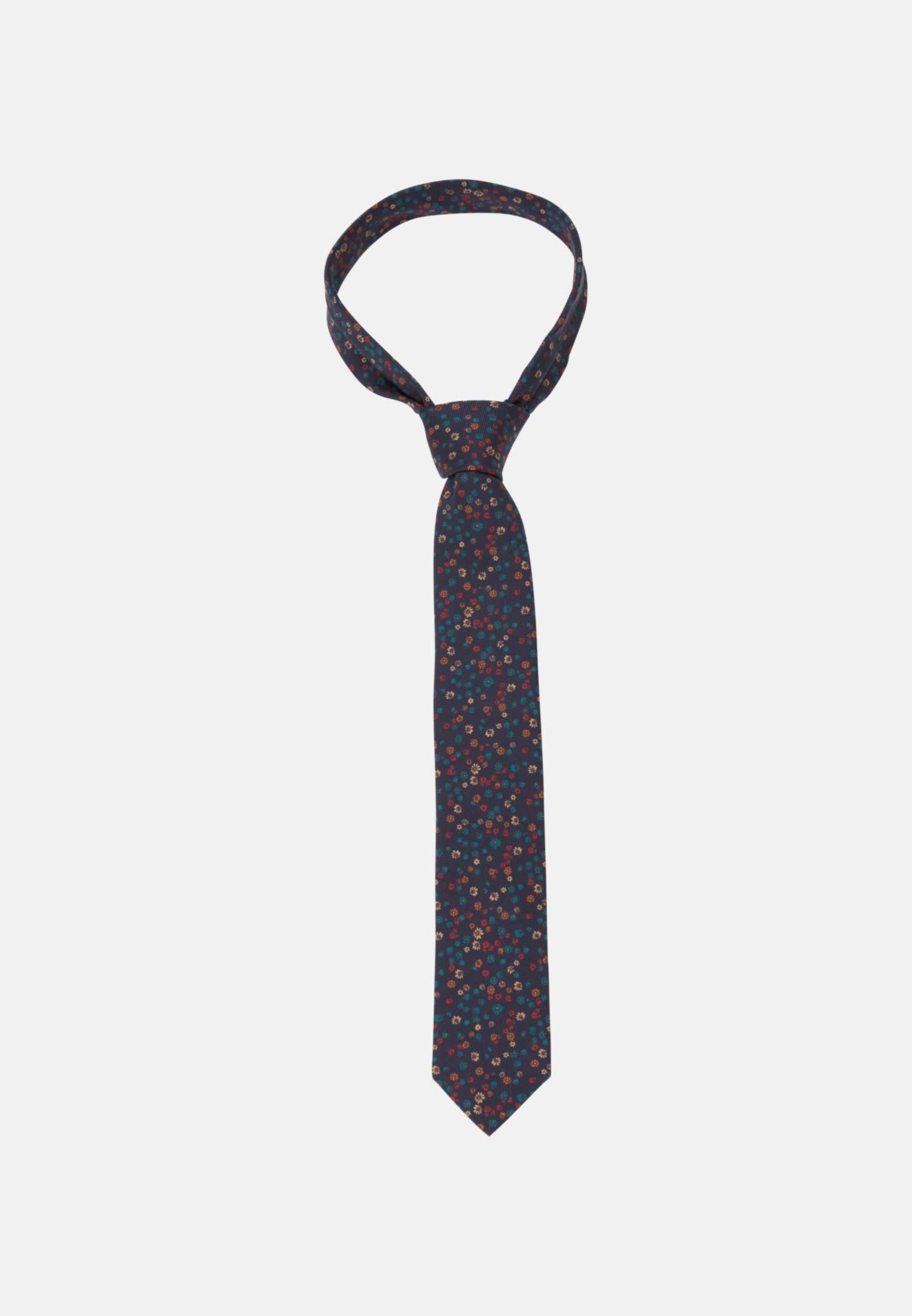 Tie made of 100% Silk 7 cm wide in Medium blue    Seidensticker Onlineshop