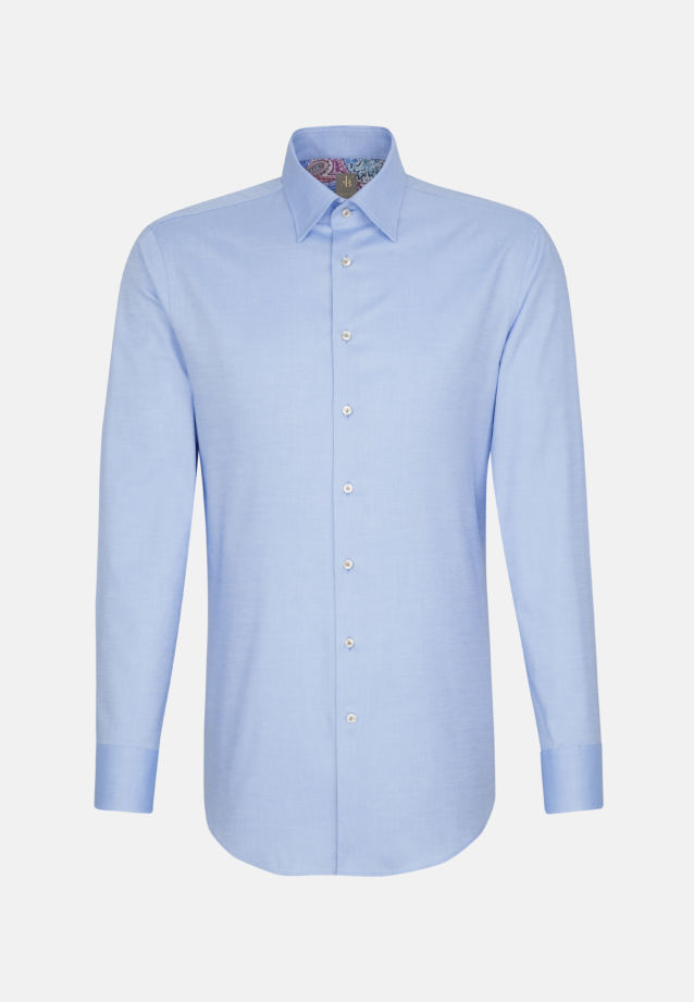 Oxford Business Hemd in Slim Fit mit Under-Button-Down-Kragen in Hellblau |  Jacques Britt Onlineshop