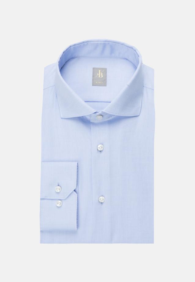 Twill Business Hemd in Slim Fit mit Kentkragen in Hellblau    Jacques Britt Onlineshop