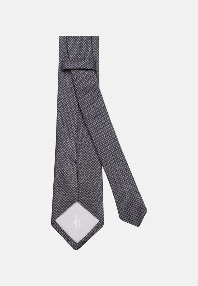 Krawatte aus 100% Seide 7 cm Breit in Schwarz |  Jacques Britt Onlineshop