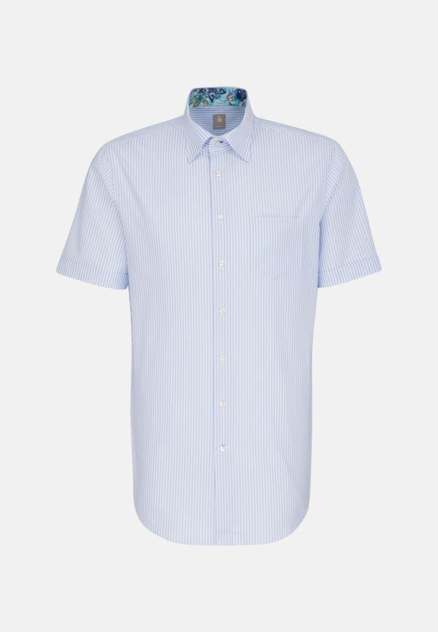 Oxford Business Hemd in Custom Fit mit Under-Button-Down-Kragen in Hellblau |  Jacques Britt Onlineshop