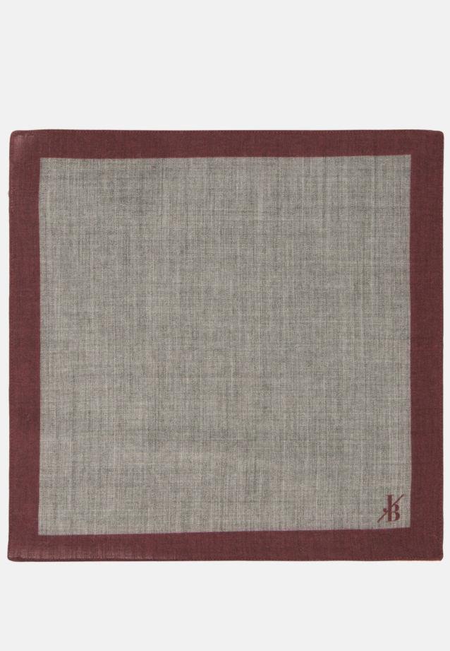 Einstecktuch aus 100% Wolle in Grau    Jacques Britt Onlineshop