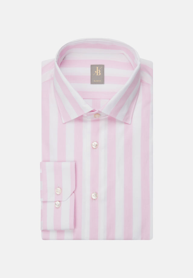 Oxford Business Hemd in Slim Fit mit Kentkragen in Rosa/Pink |  Jacques Britt Onlineshop