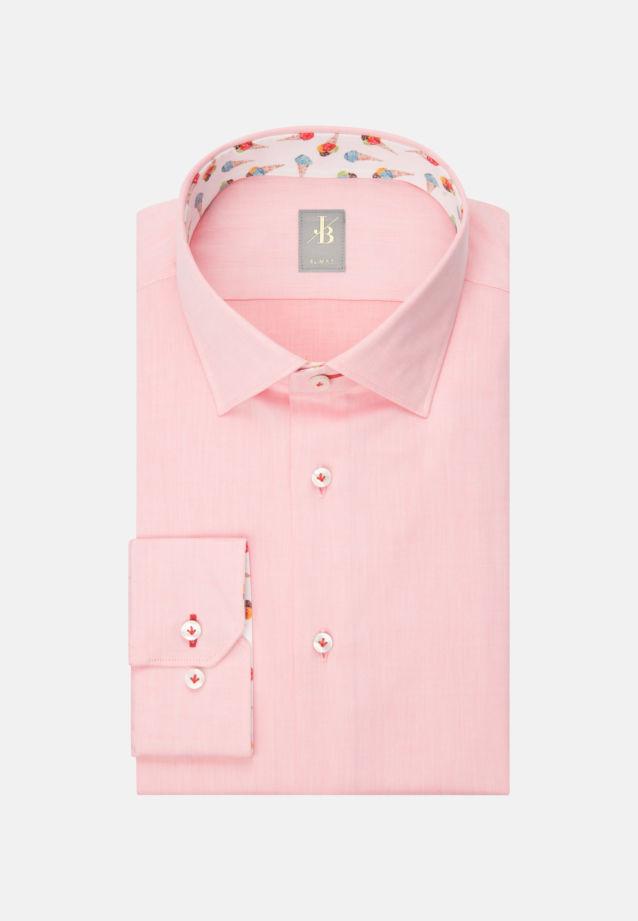 Twill Business Hemd in Slim Fit mit Kentkragen in Gelb |  Jacques Britt Onlineshop