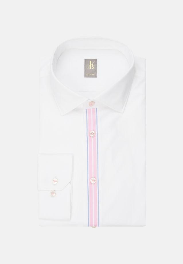 Jacques Britt Business Hemd Oxford in Weiß |  Jacques Britt Onlineshop