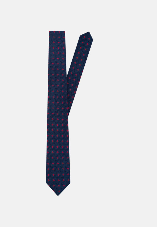Krawatte aus 100% Seide cm Breit in Mittelblau |  Jacques Britt Onlineshop