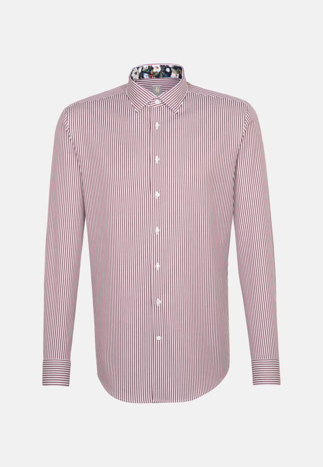 Twill Business Hemd in Slim Fit mit Kentkragen in Rosa/Pink    Jacques Britt Onlineshop