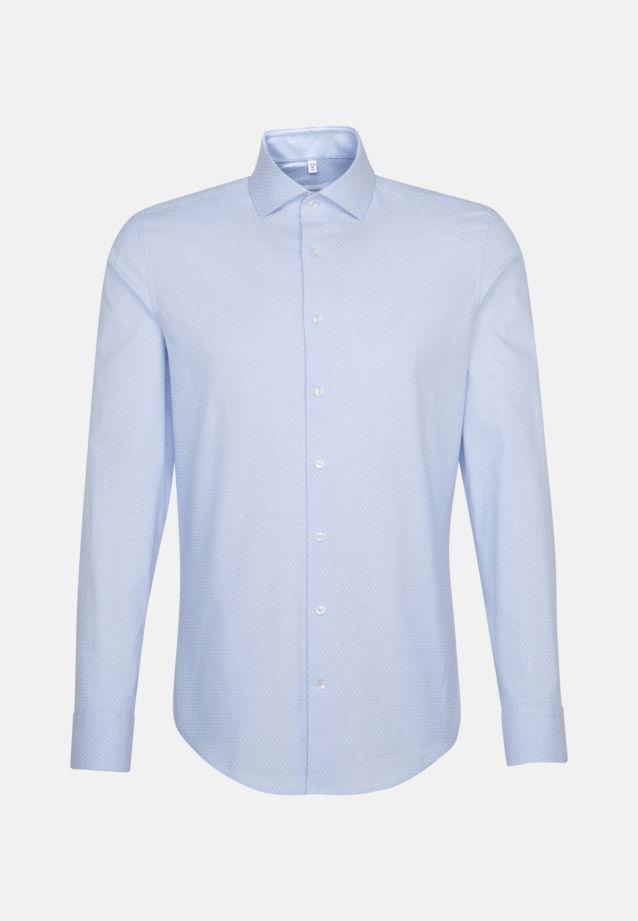 Oxford Business Hemd in Shaped mit Kentkragen und extra langem Arm in Hellblau |  Jacques Britt Onlineshop