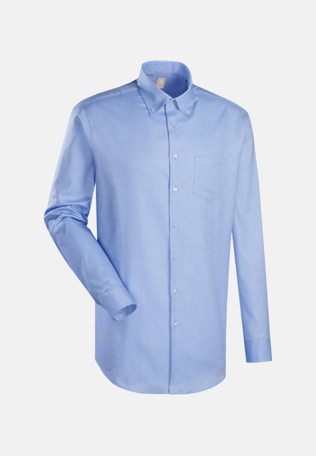 Oxford Business Hemd in Slim Fit mit Button-Down-Kragen in Hellblau |  Jacques Britt Onlineshop