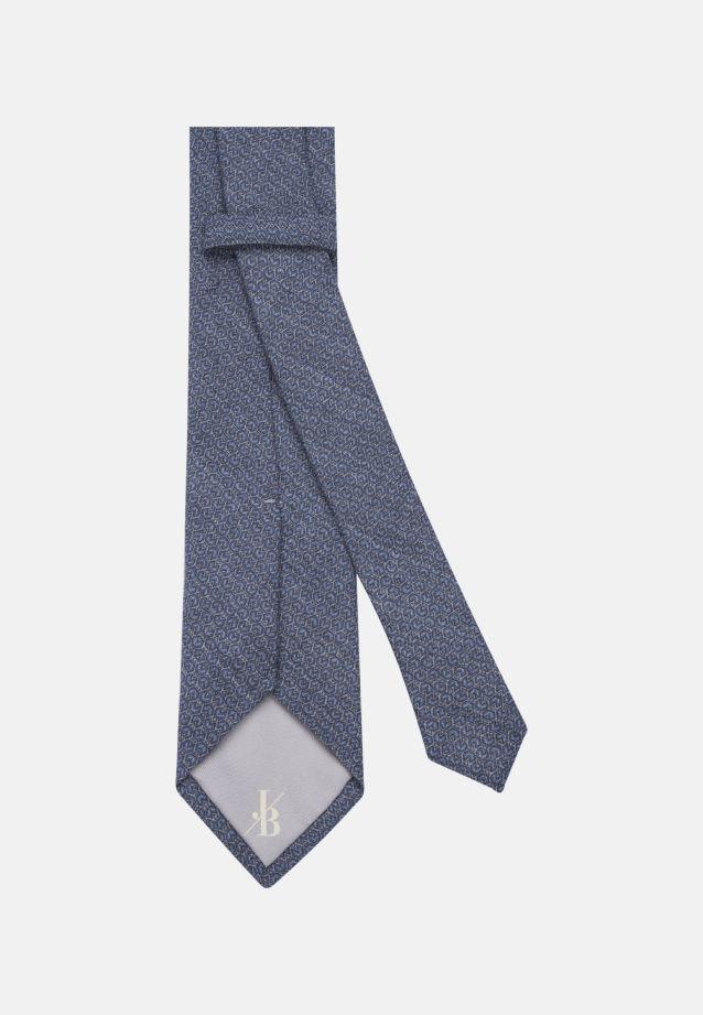 Krawatte aus 100% Wolle 7 cm Breit in Mittelblau |  Jacques Britt Onlineshop