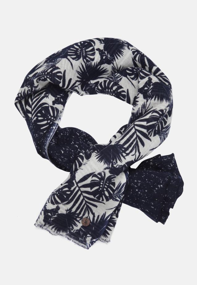 Schal aus 100% Baumwolle in Dunkelblau |  Jacques Britt Onlineshop