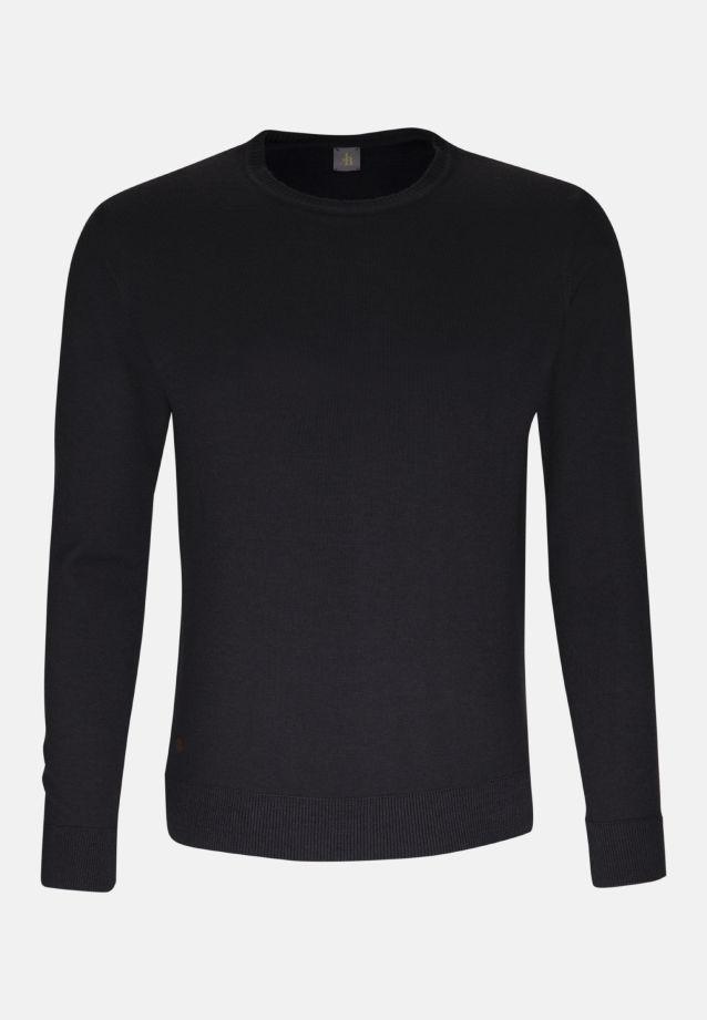 Rundhals Pullover aus 100% Merino-Wolle in Grau |  Jacques Britt Onlineshop